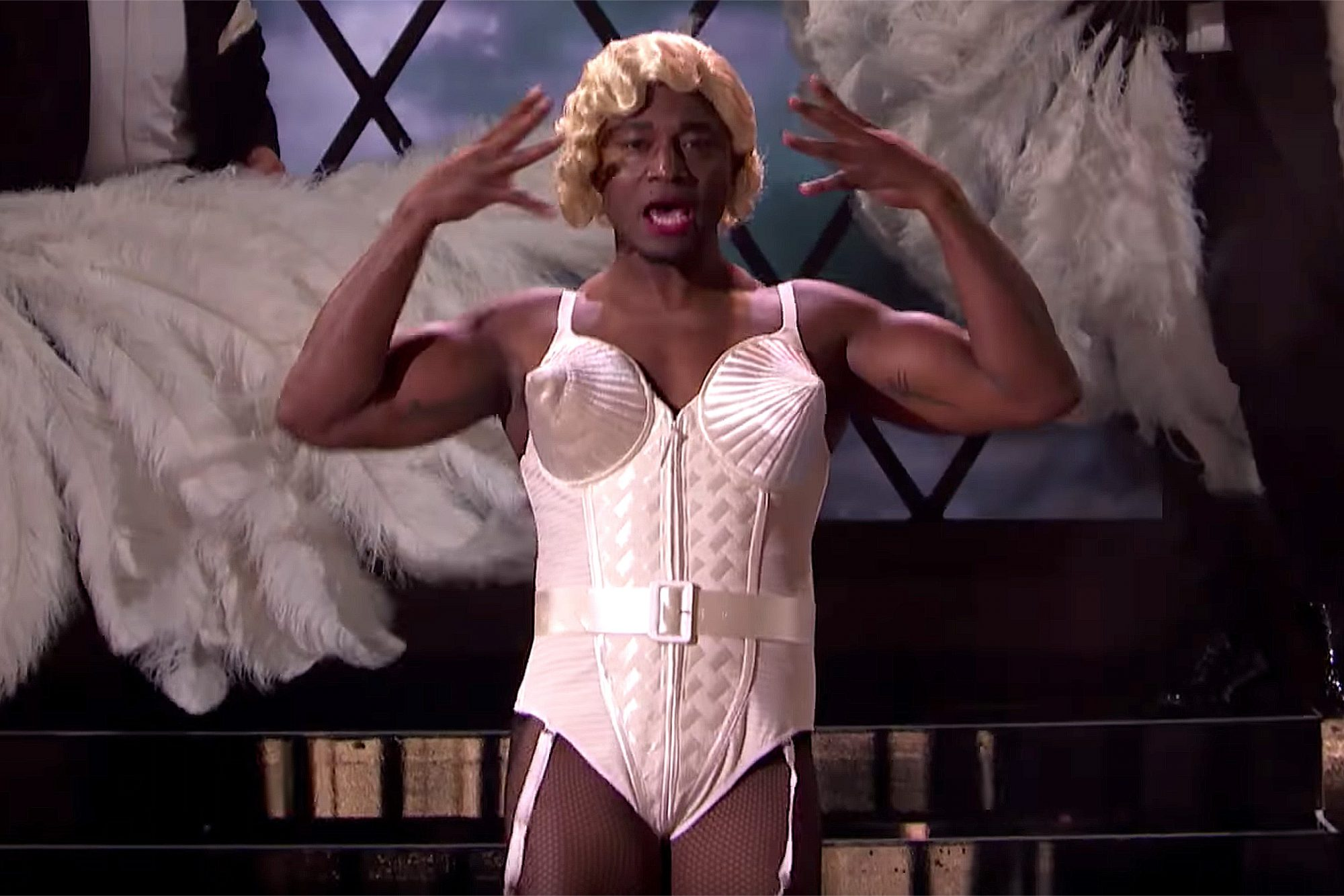 Taye Diggs on Lip Sync Battle