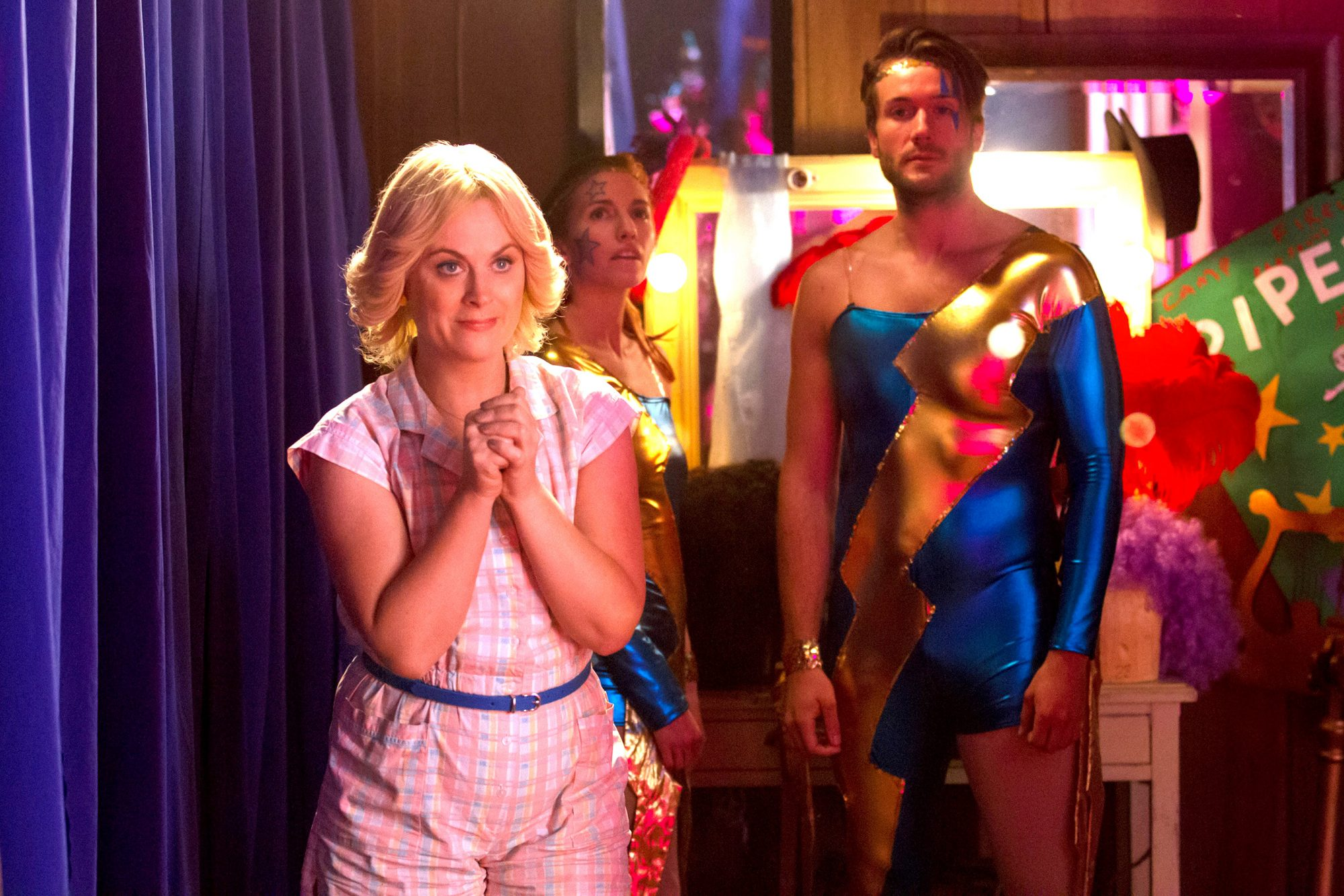 WET HOT AMERICAN SUMMER: FIRST DAY OF CAMP, Amy Poehler (left), (Season 1, airs July 31, 2015).