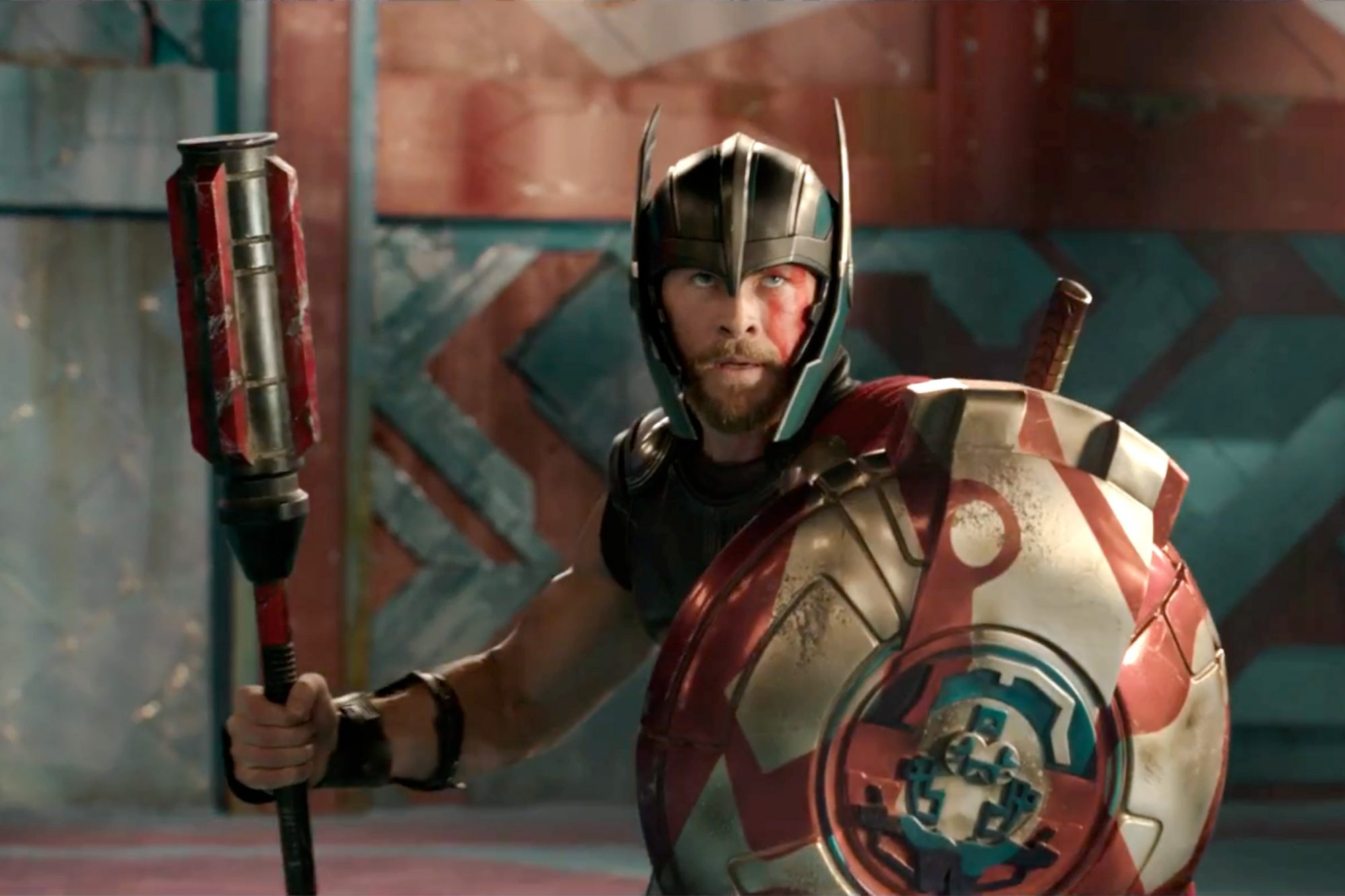 Thor Ragnarok trailer screen grab Credit: Marvel