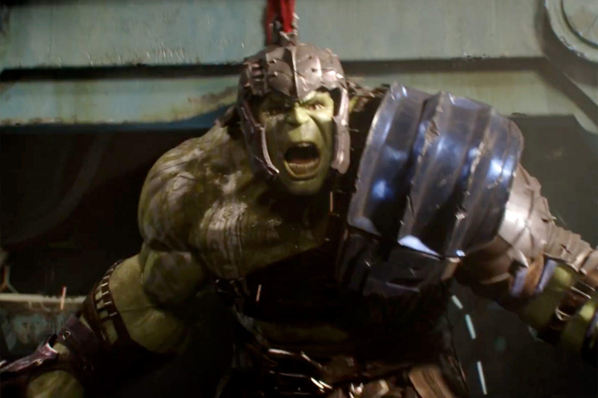 Thor Ragnarok trailer screen grab Credit: Marvel