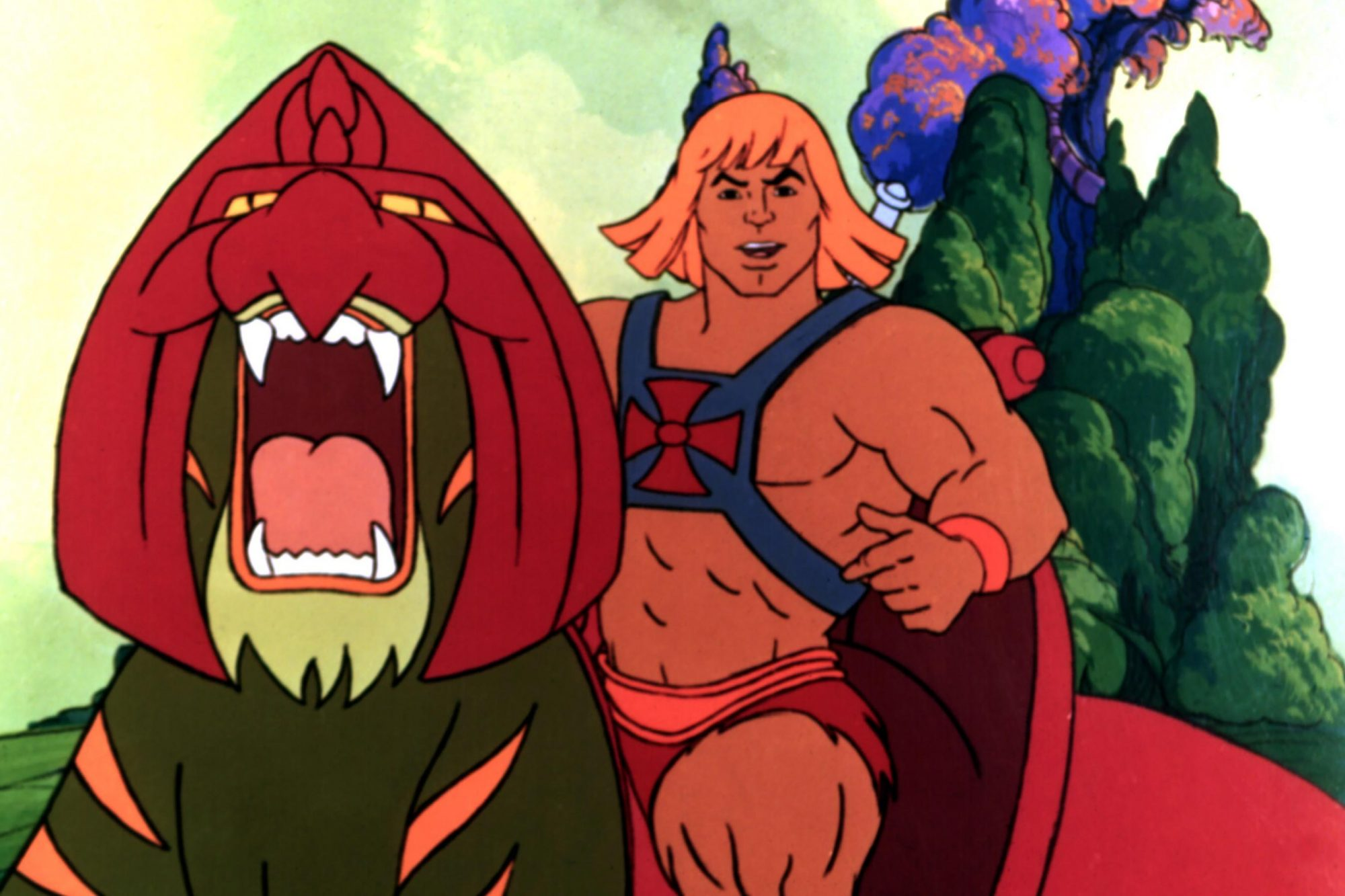 HE-MAN AND THE MASTERS OF THE UNIVERSE, He-Man, 1983-1985