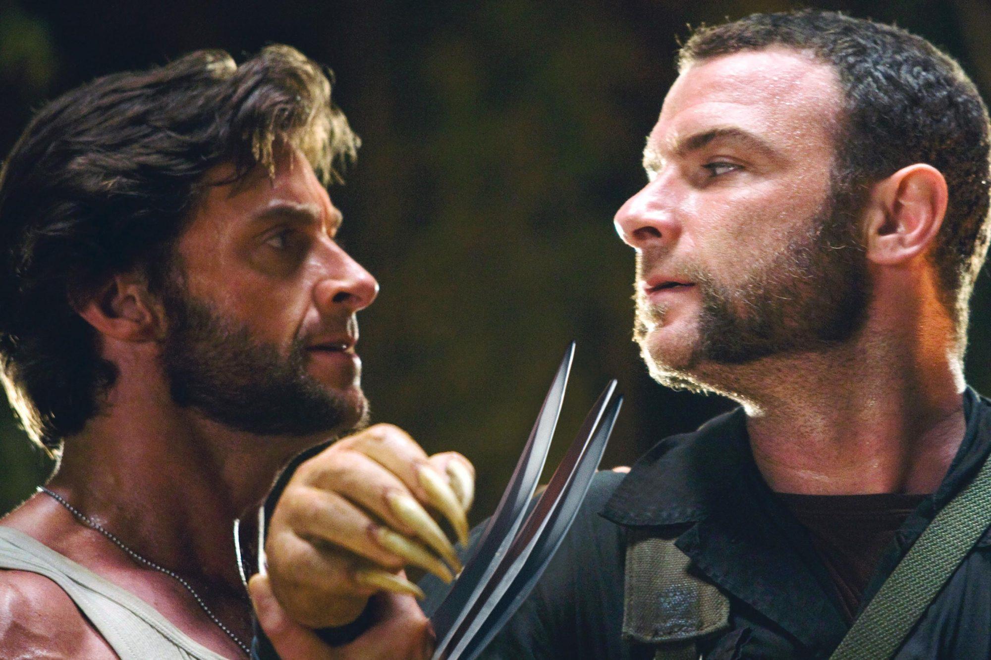 X-MEN Origins: Wolverine (2009)Hugh Jackman (L) and Liev Schreiber