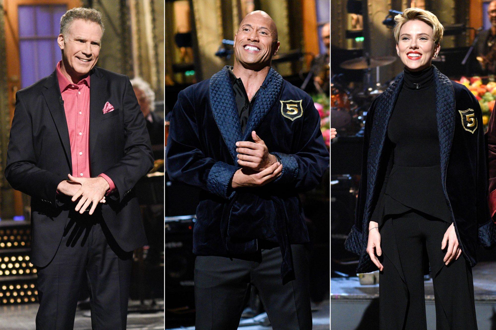 Will Ferrell / Dwayne Johnson / Scarlett Johansson