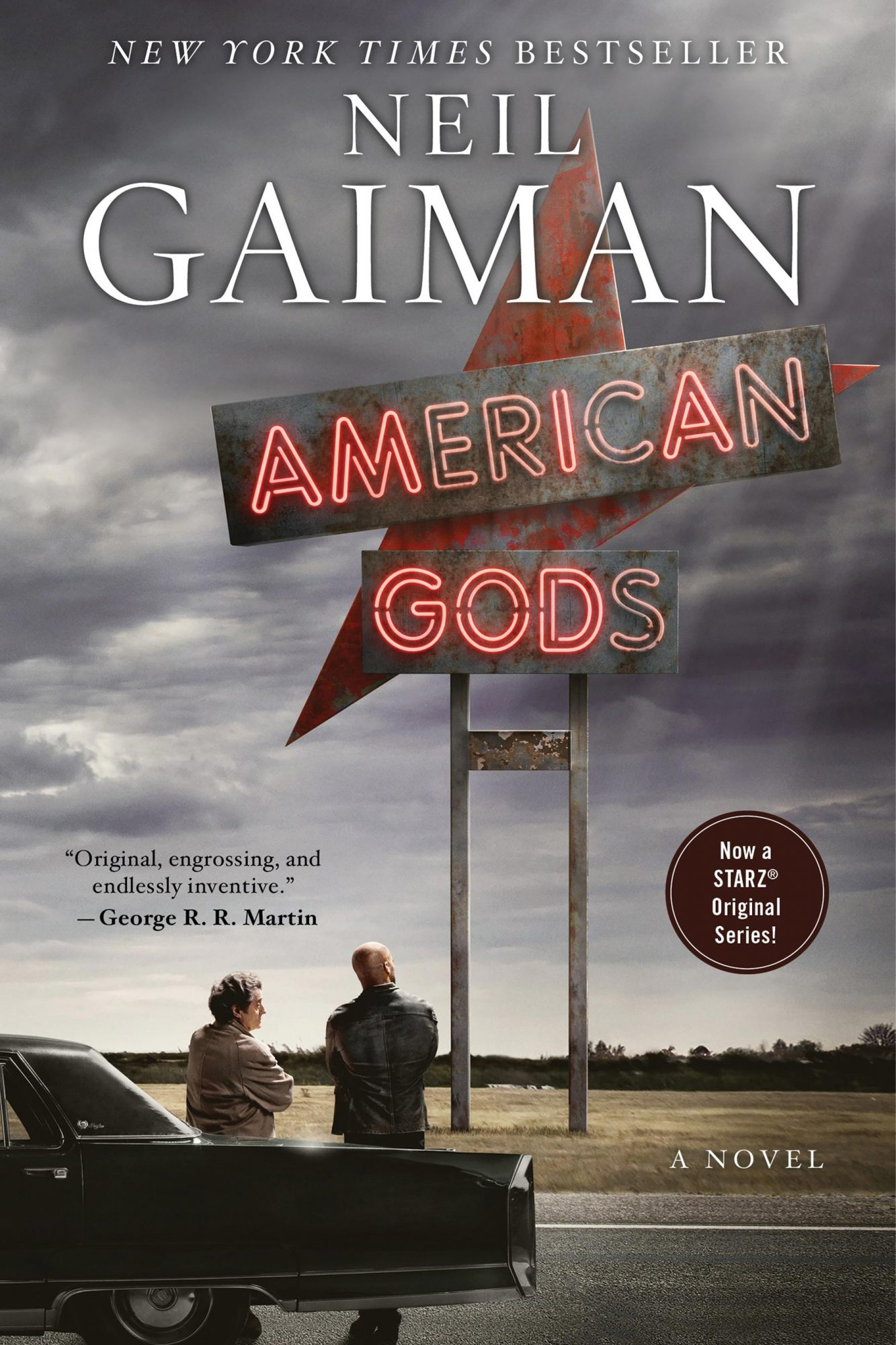 Honorary Mention: American Gods by Neil Gaiman
