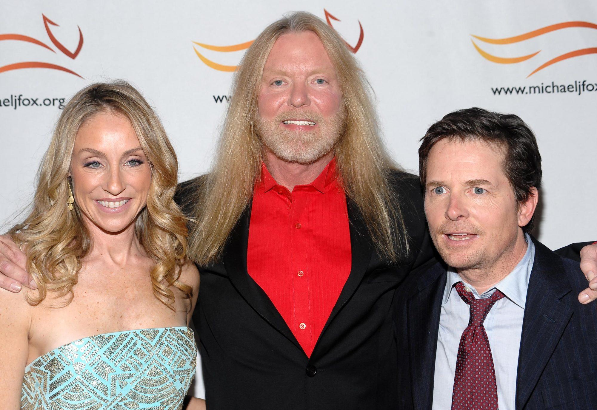 Tracy Pollan, Gregg Allman, Michael J Fox