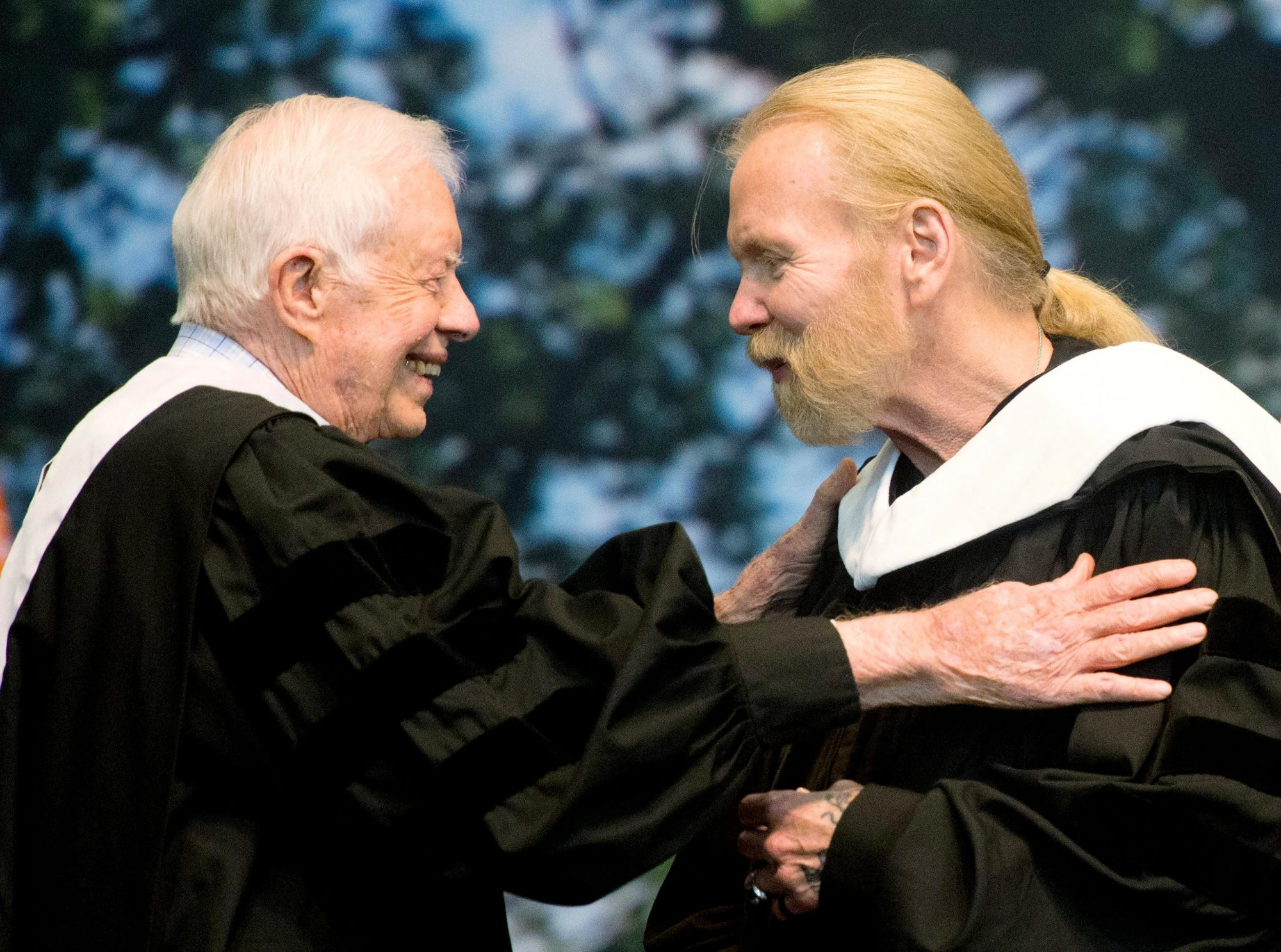 Jimmy Carter, Gregg Allman