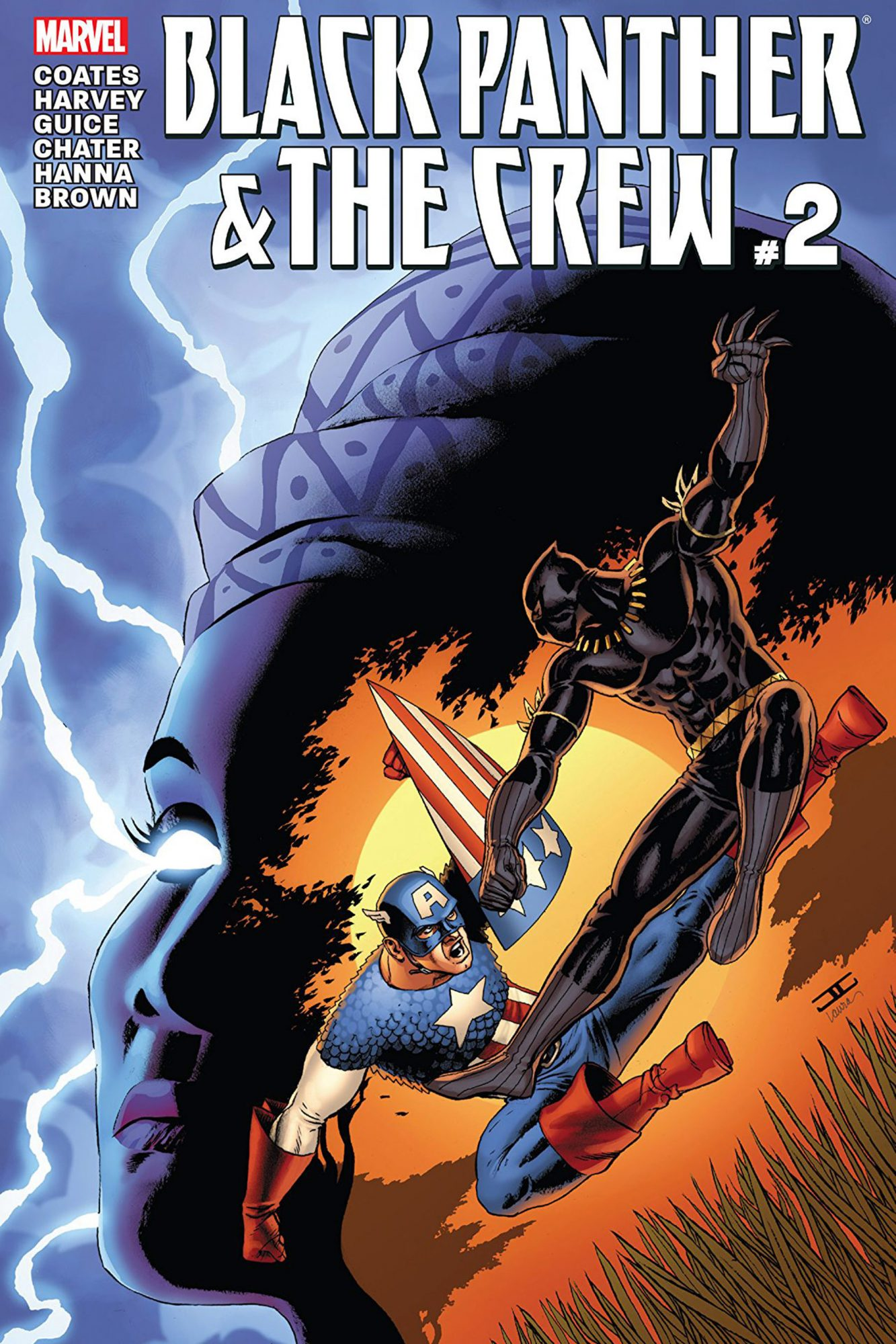 Black Panther and the Crew #2