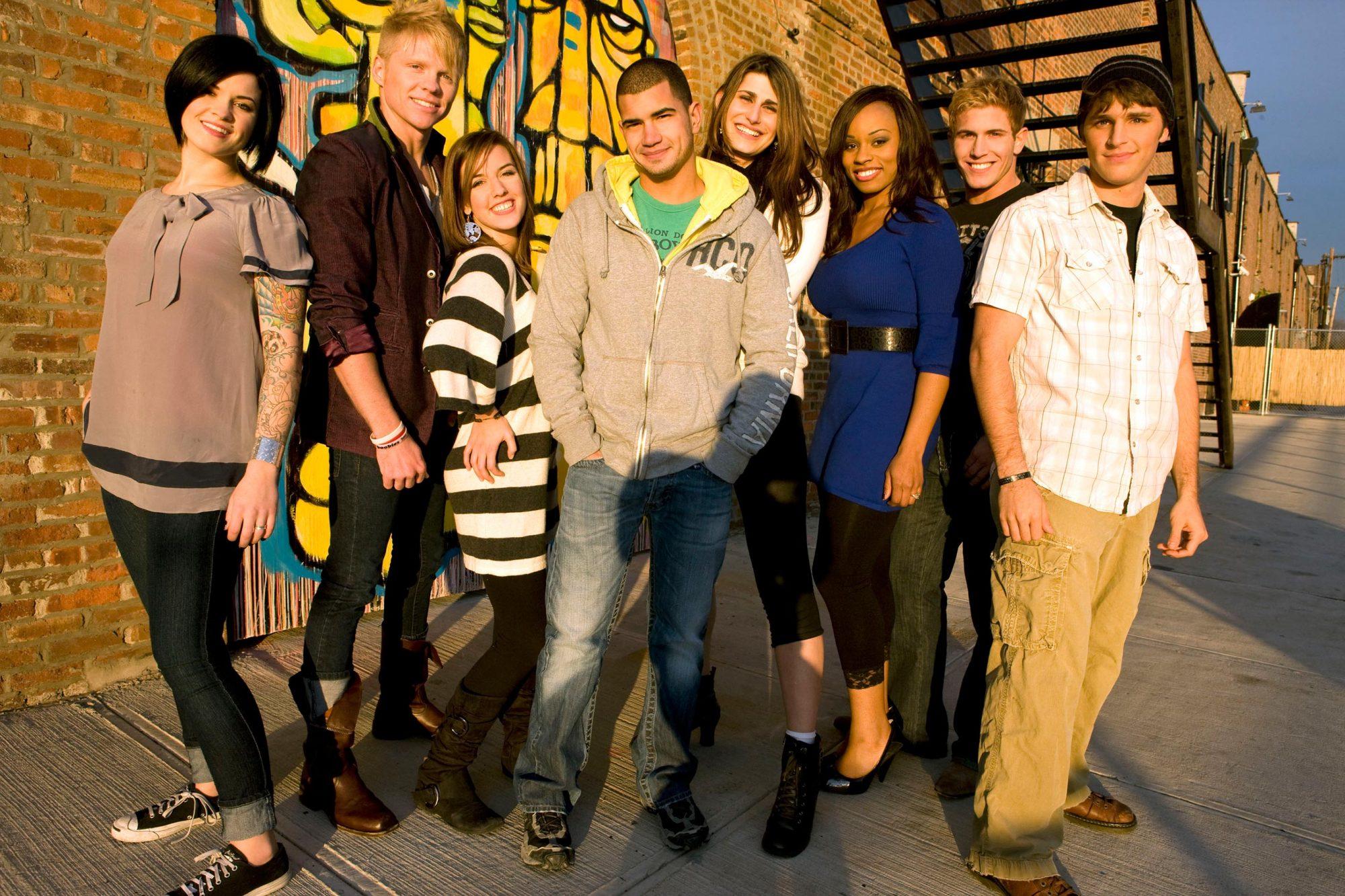 MTV's Real World BrooklynSarah, Chet, Baya, JD, Katelynn, Devyn, Scott, Ryan