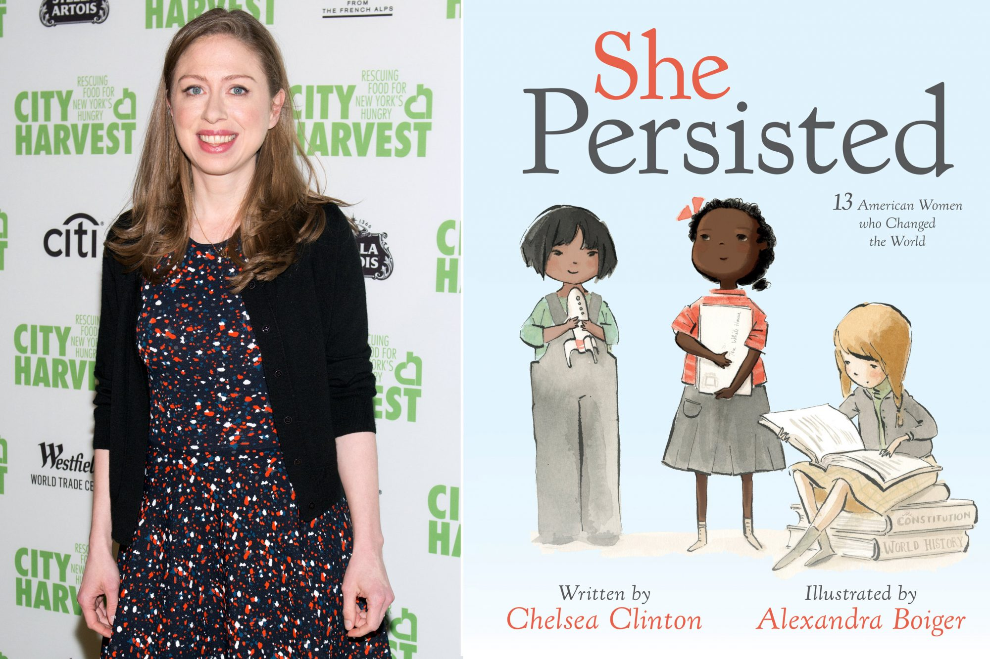Chelsea Clinton - She Persisted book