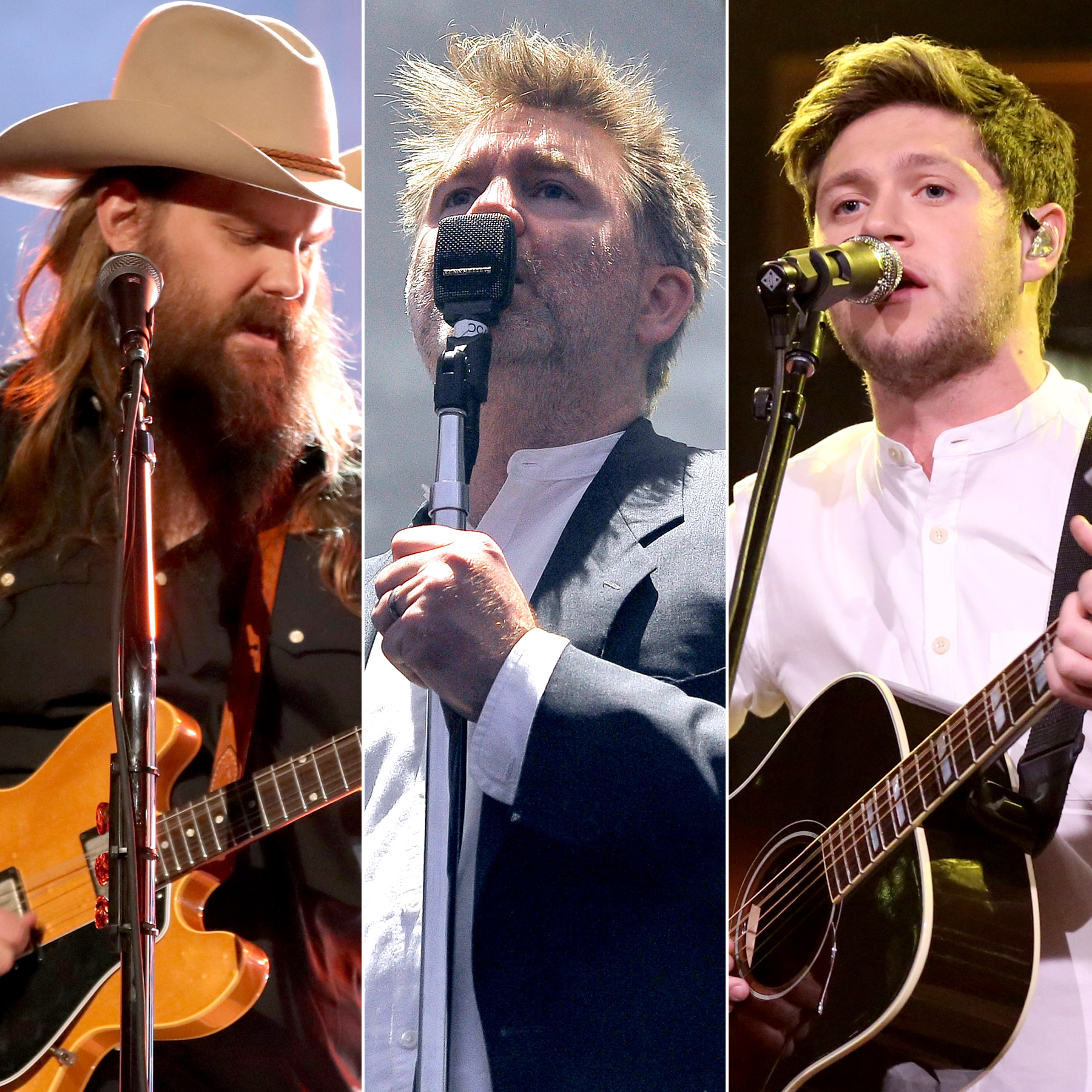 Chris Stapleton, LCD Soundsystem and Niall Horan