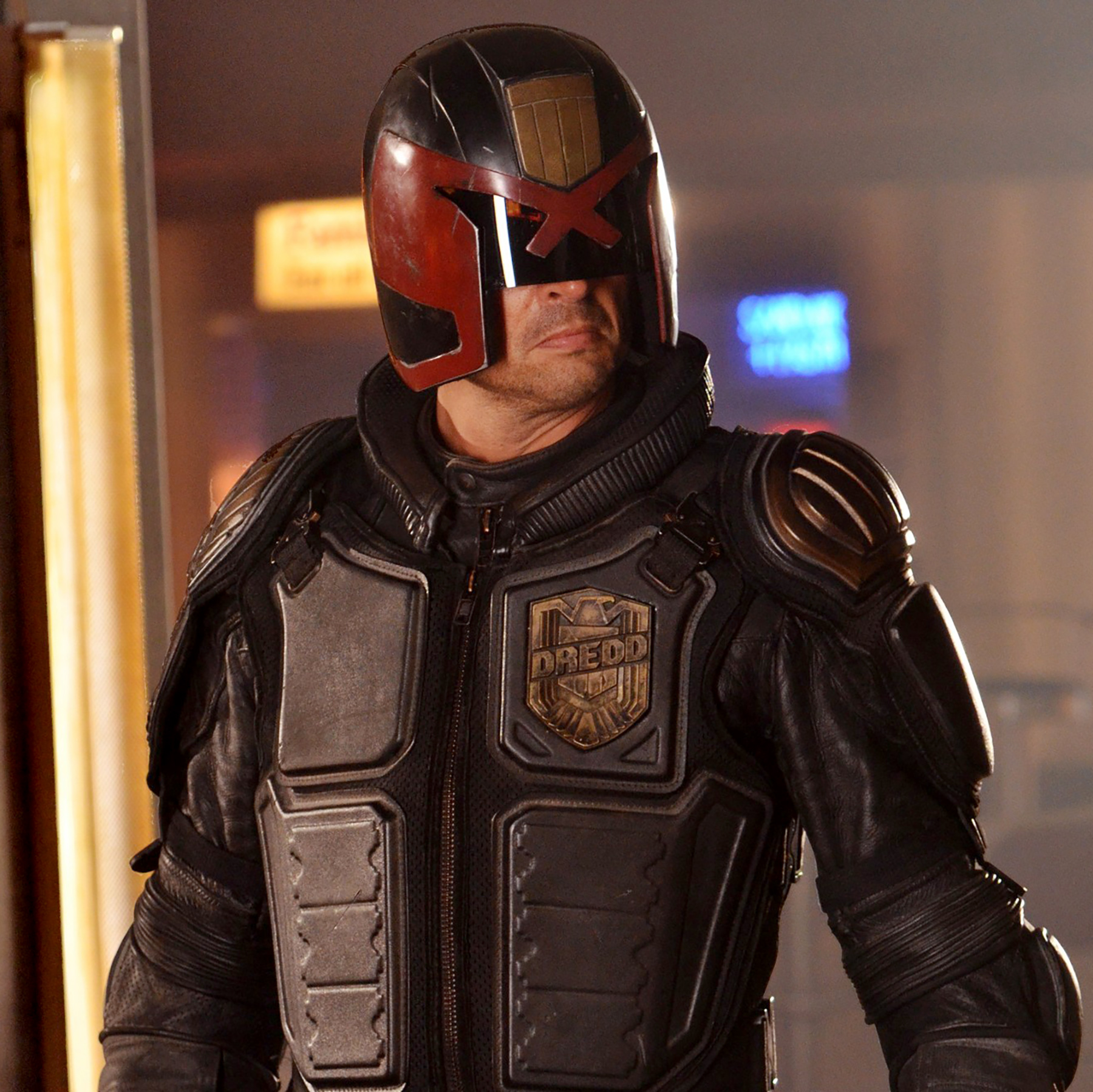 DREDD, (aka DREDD 3D), Karl Urban, 2012. ph: Joe Alblas/©Lionsgate/Courtesy Everett Collection