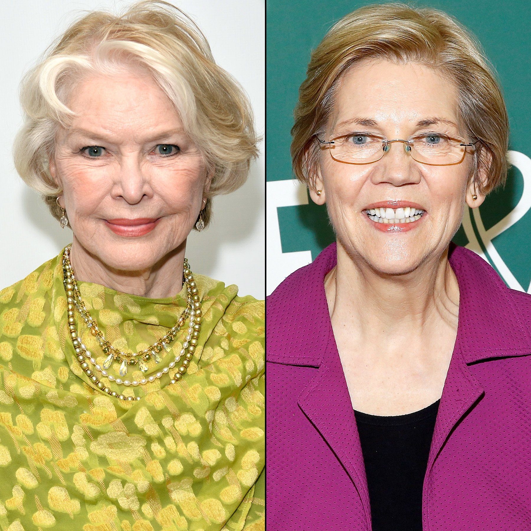 Ellen Burstyn and Elizabeth Warren
