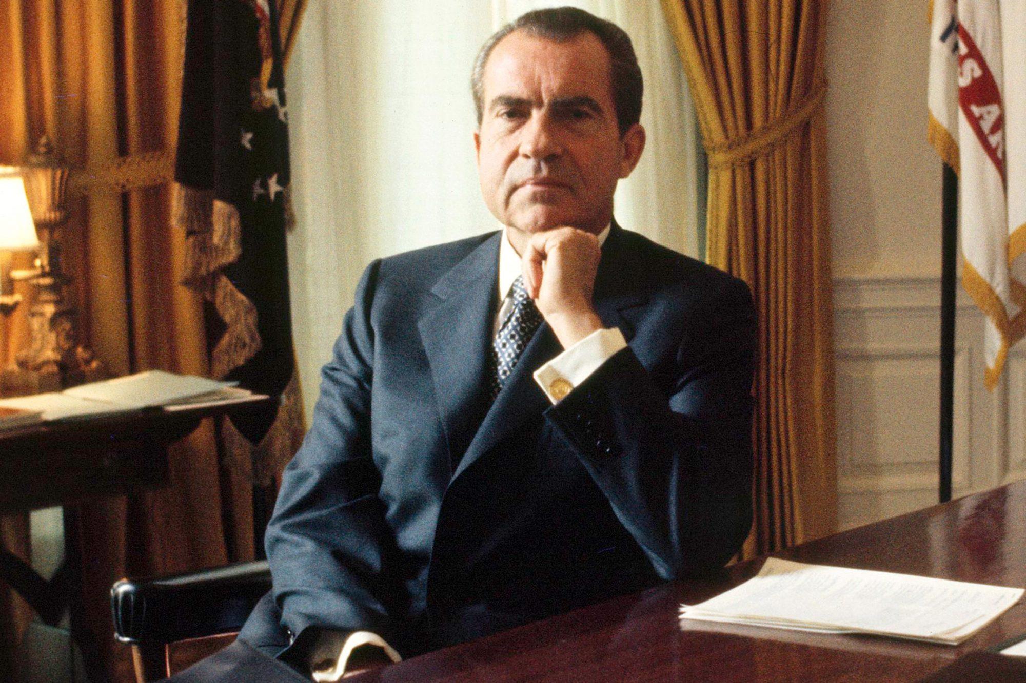 Richard Nixon In United States In The 1970S -