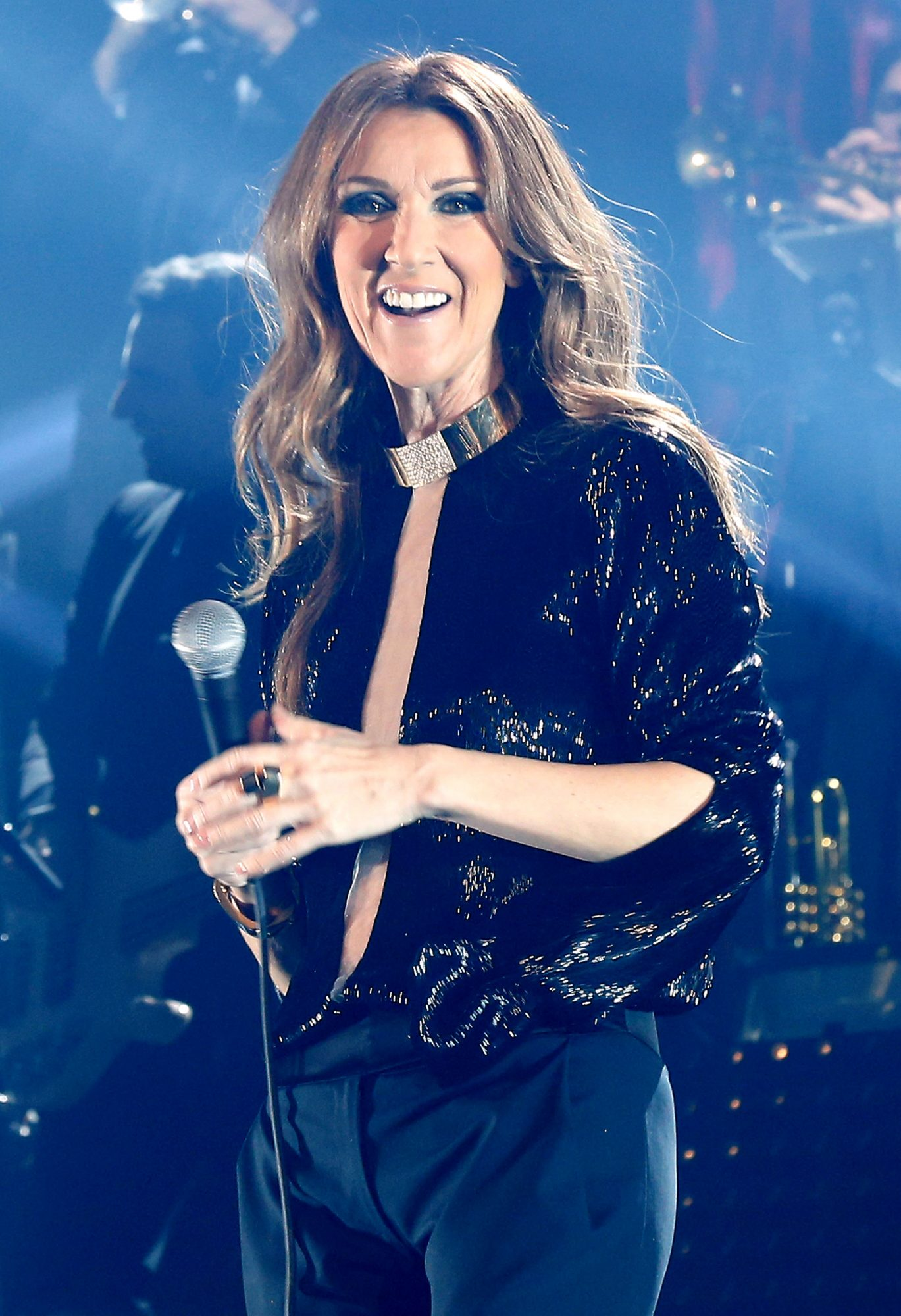 Celine Dion In Concert AT Palais Omnisport De Paris Bercy