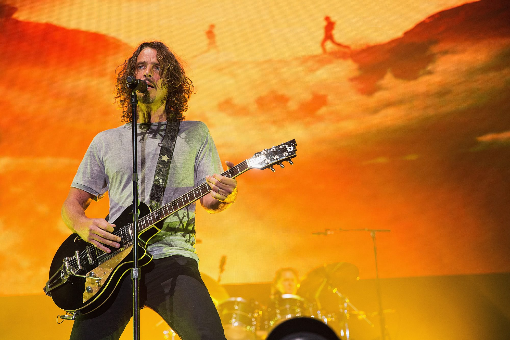 Soundgarden Performs At The Sleep Country Amphitheater