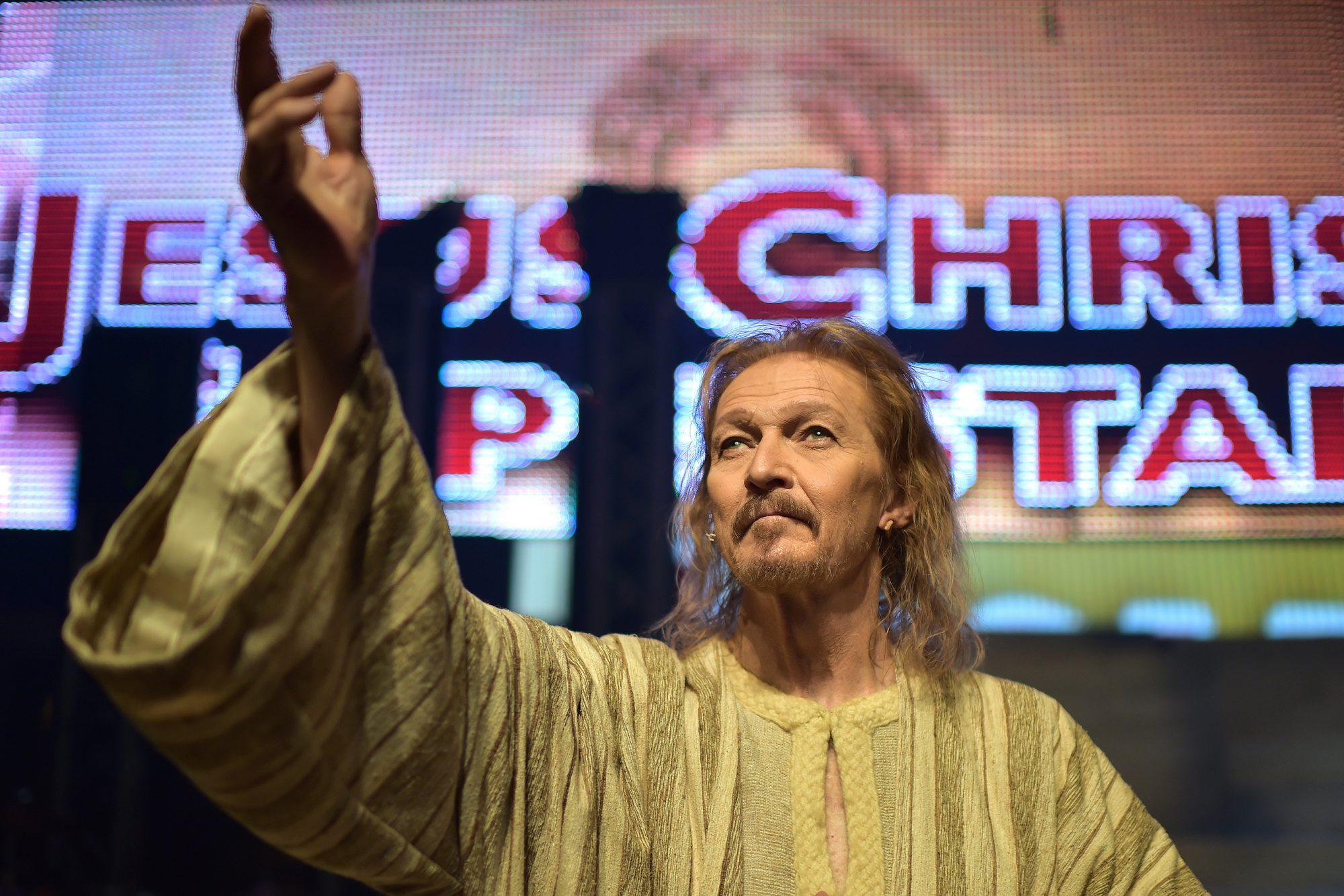 ITALY-MUSIC-JESUS-SUPERSTAR
