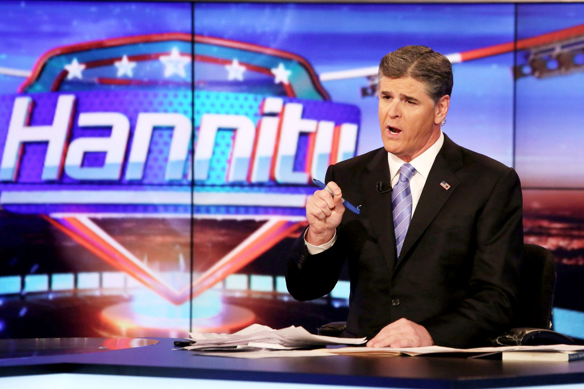 "Willie Robertson Of ""Duck Dynasty"" Visits FOX's ""Hannity With Sean Hannity"""