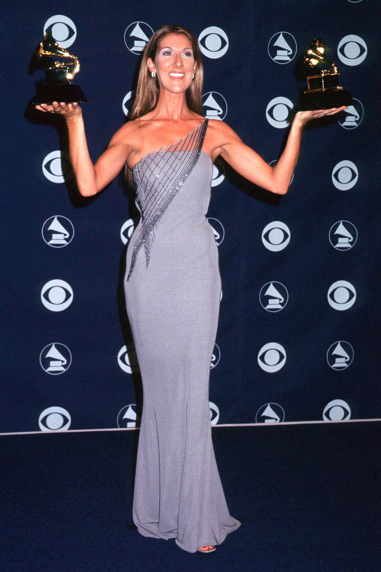 Los Angeles February 24 1999 (672153 005 The Grammy Awards Celine Dion Photo B King / Gamm