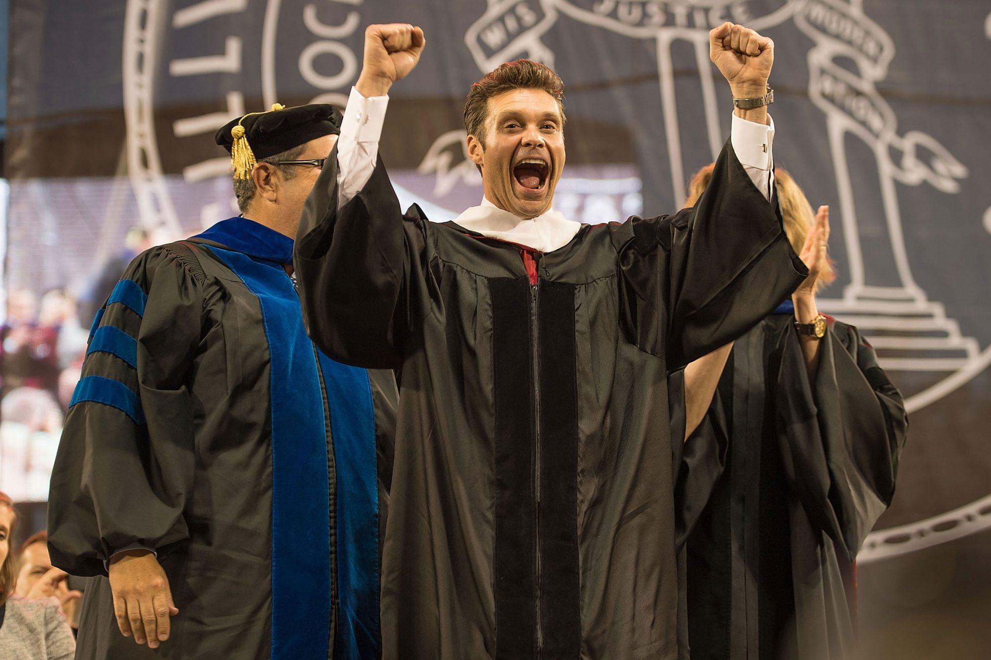 Ryan Seacrest Delivers University of Georgia Commencement Keynote Address