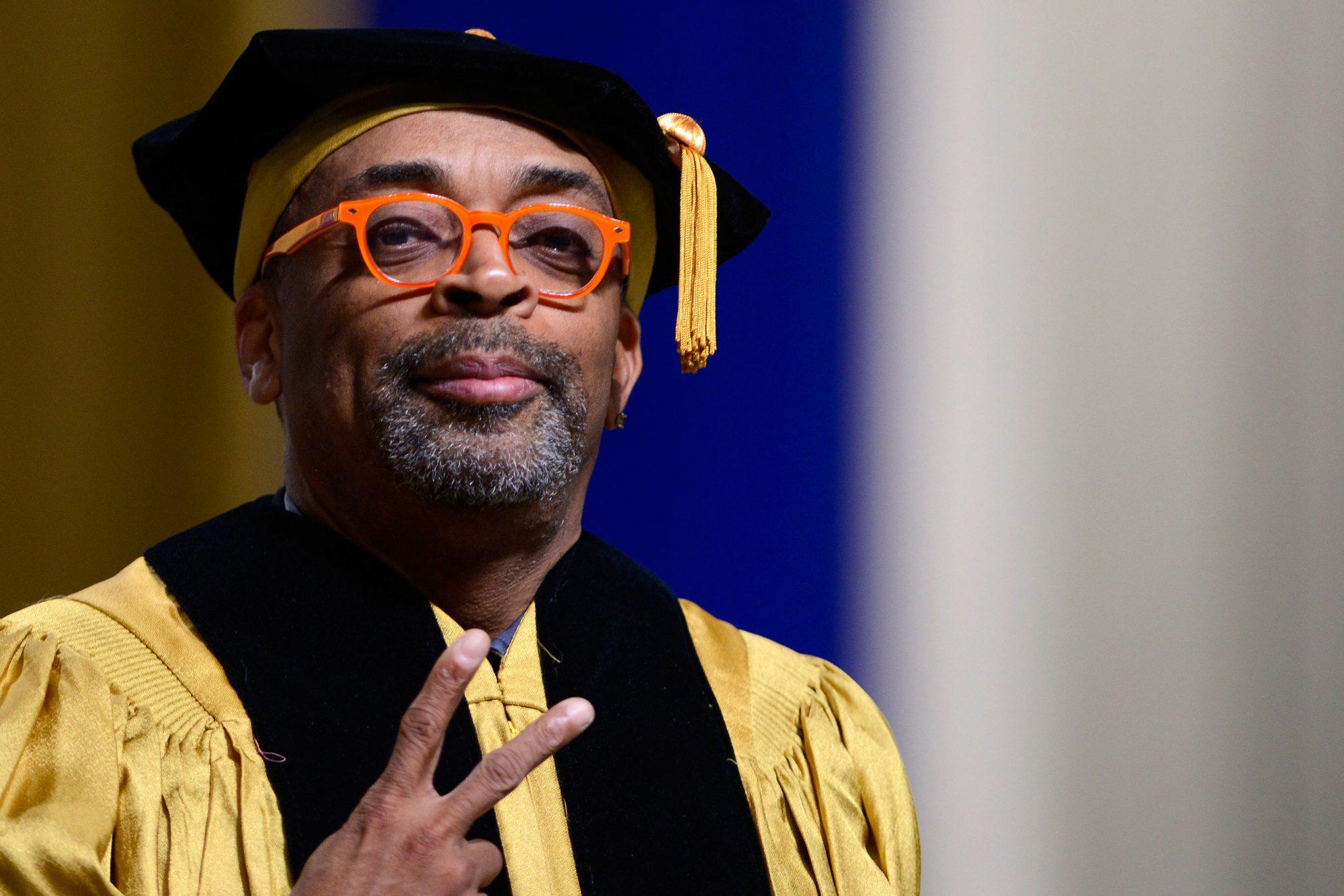 Spike Lee Delivers Johns Hopkins Commencement Keynote Address
