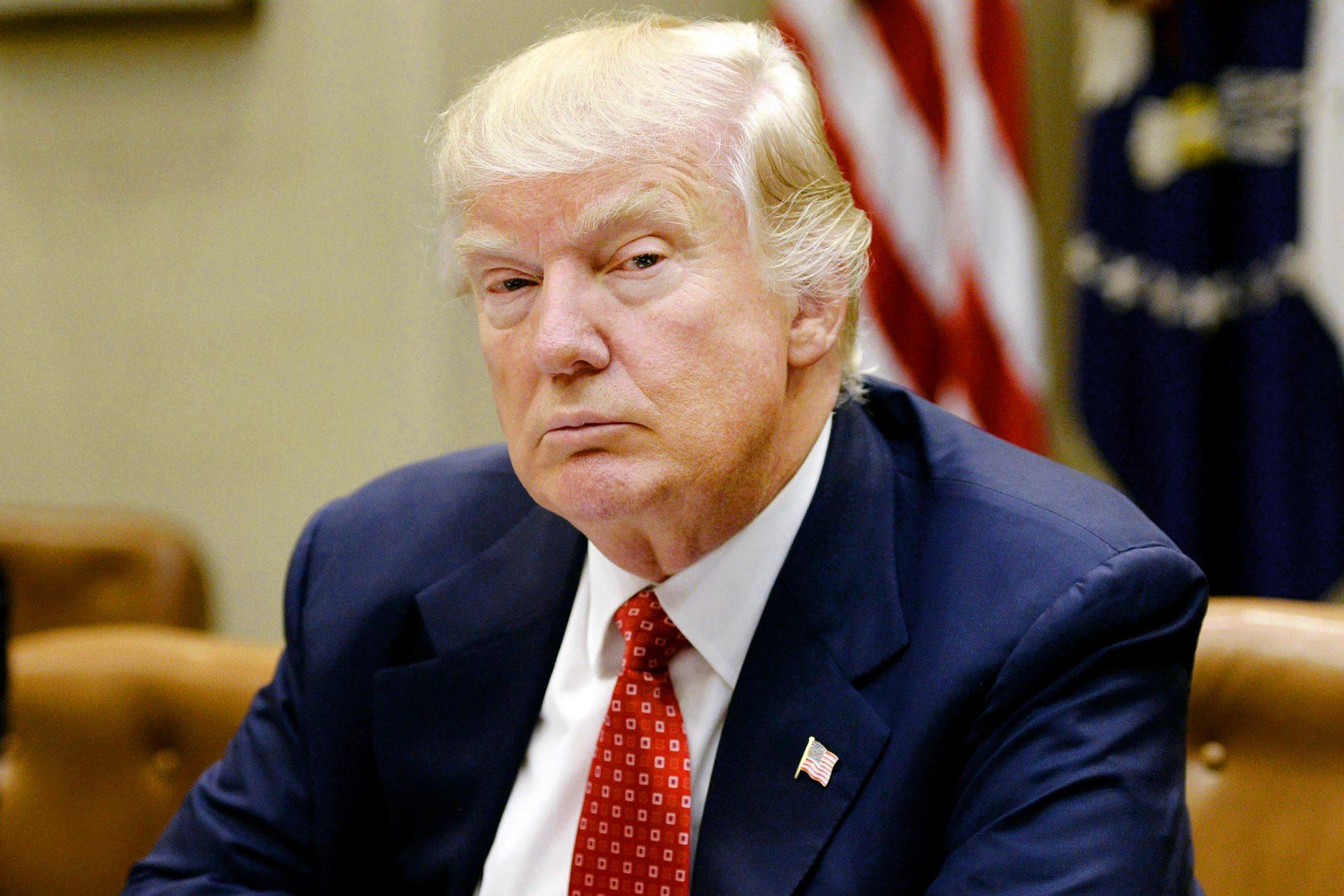 President Donald Trump Meets With Economic Advisors