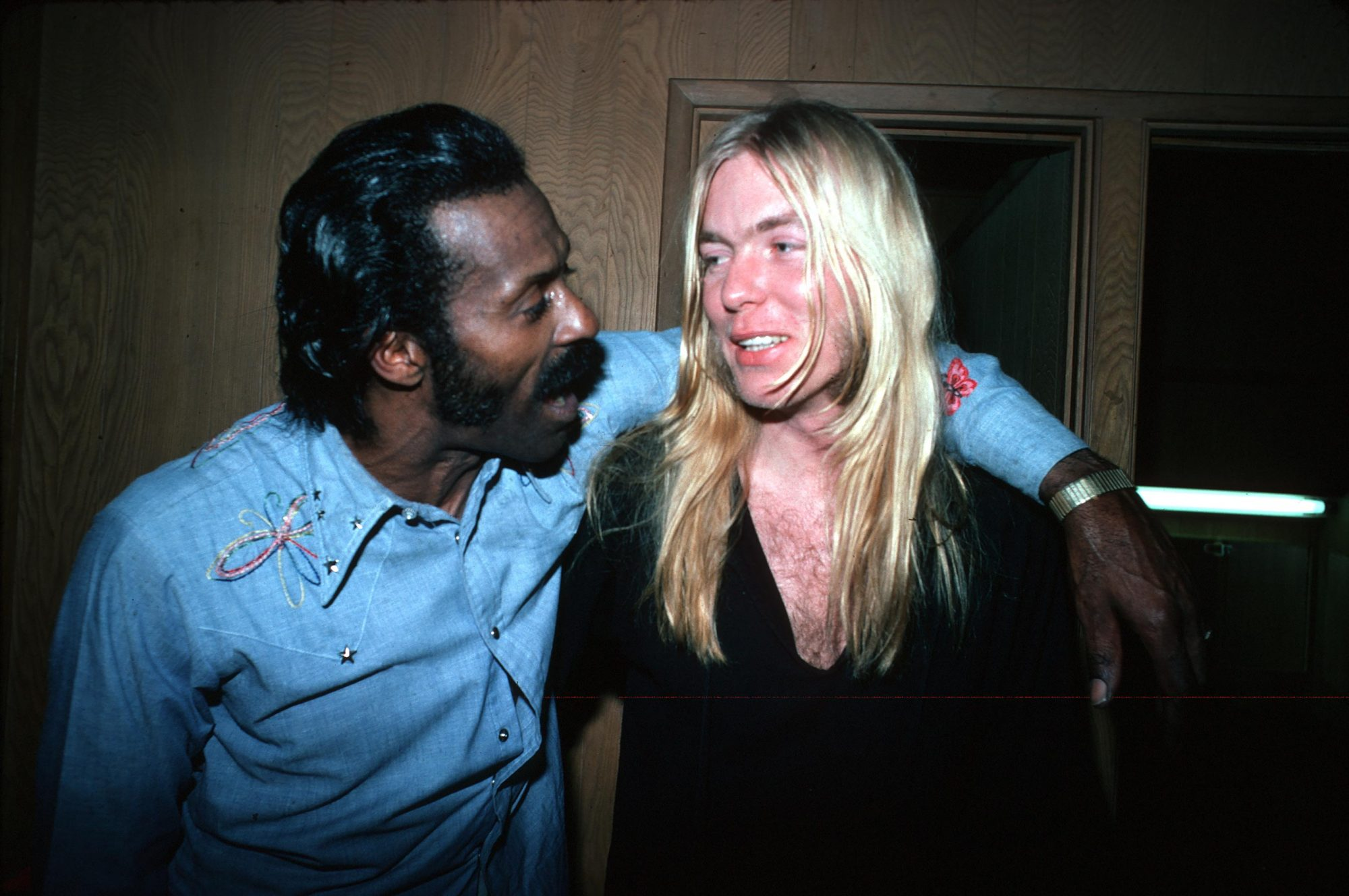 Chuck Berry & An Allman Brother At The Roxy