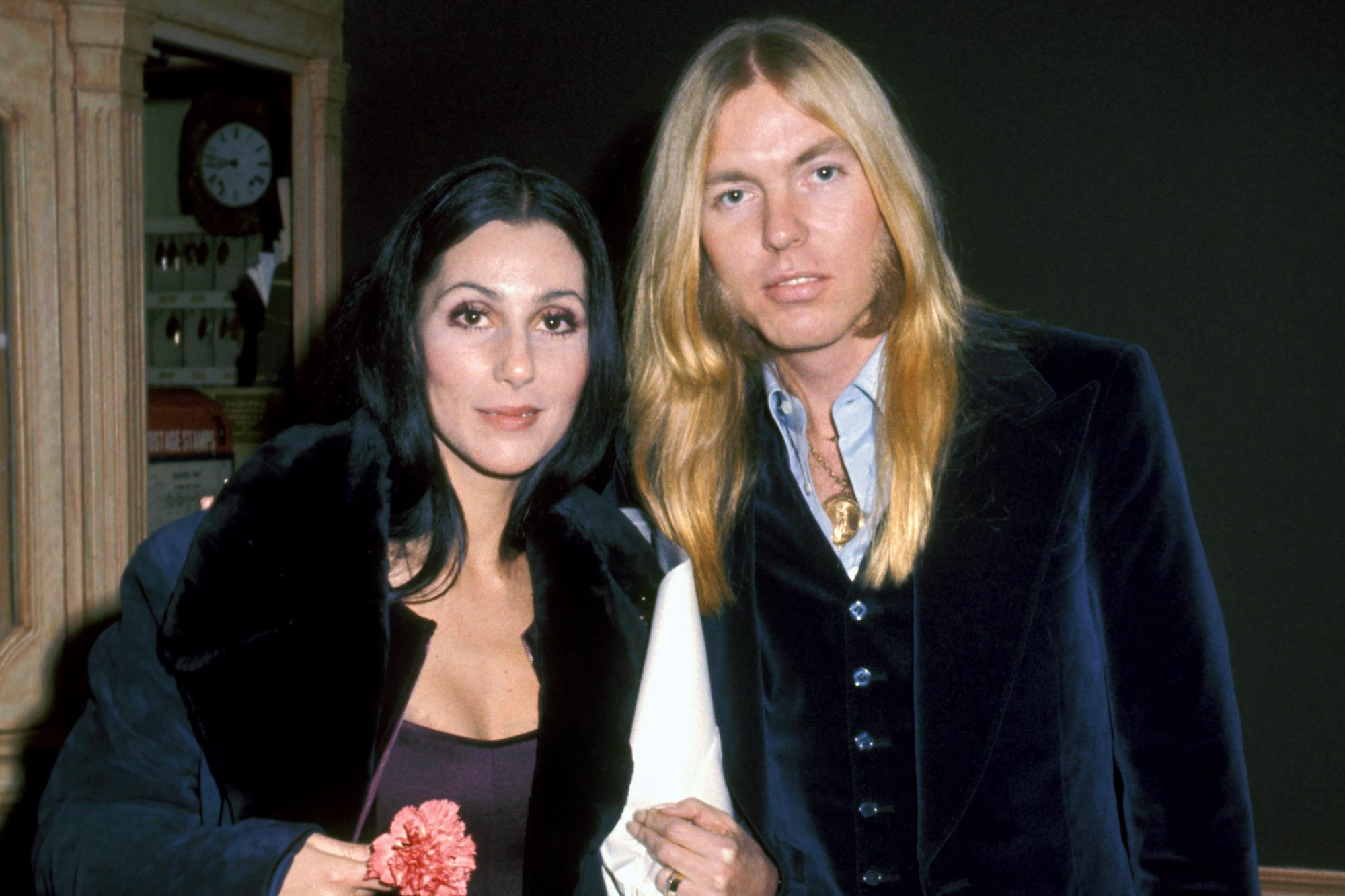 Cher and Gregg Allman in Washington, DC for Jimmy Carter's Inaugaration - January 21, 1977
