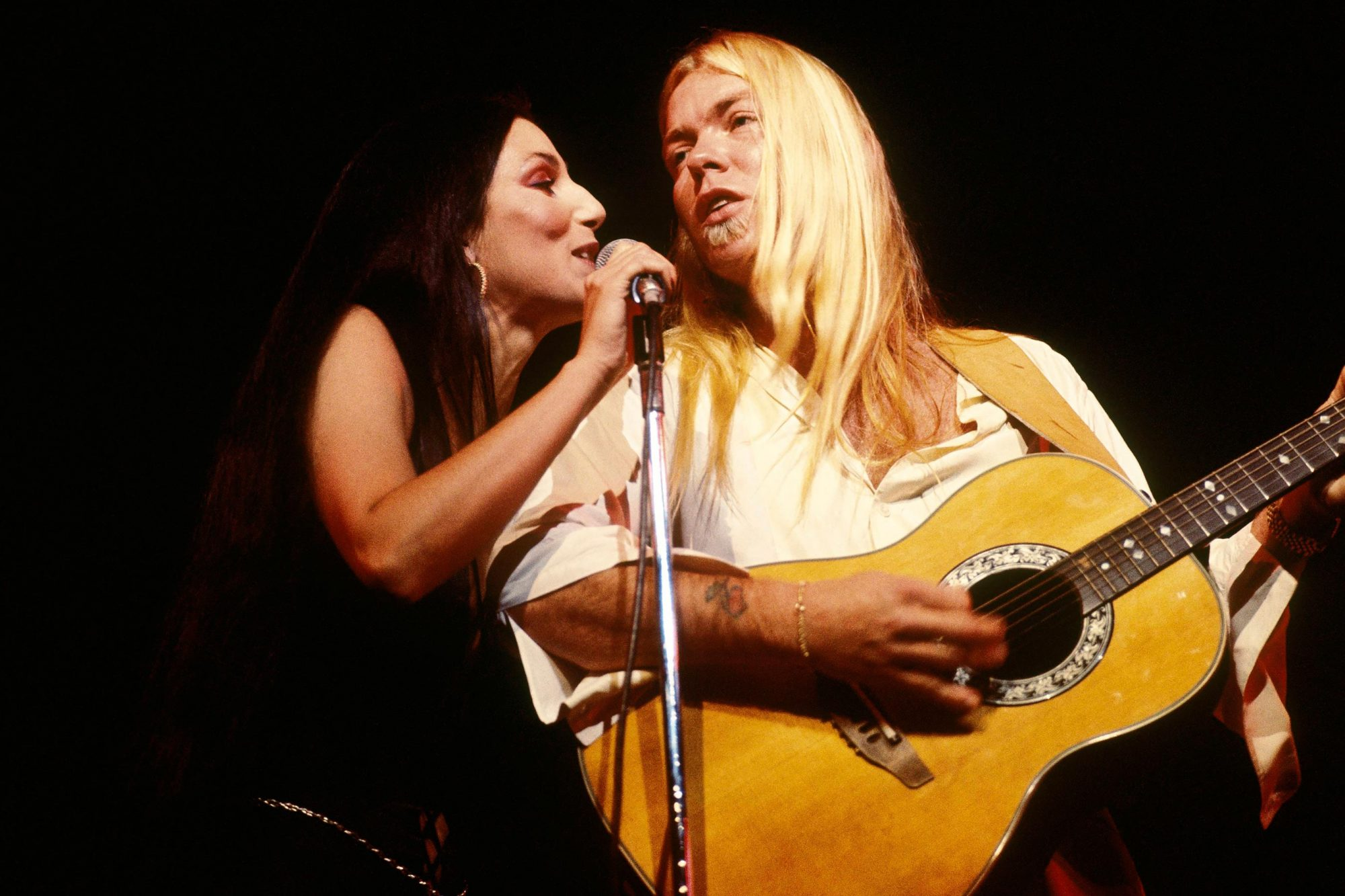 Photo of Greg ALLMAN and CHER