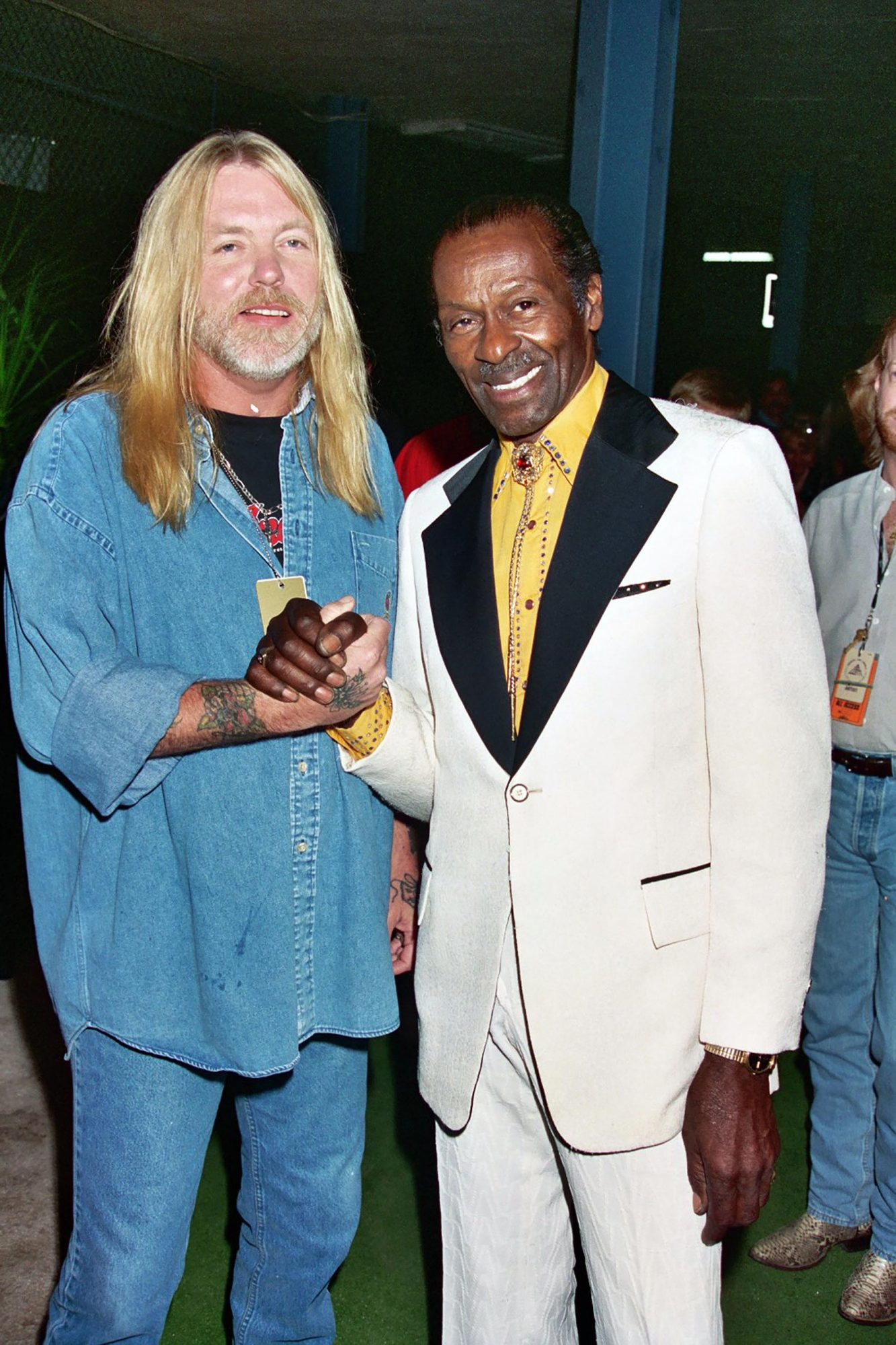 Grand Opening of Rock and Roll Hall of Fame Museum in Cleveland, 1995