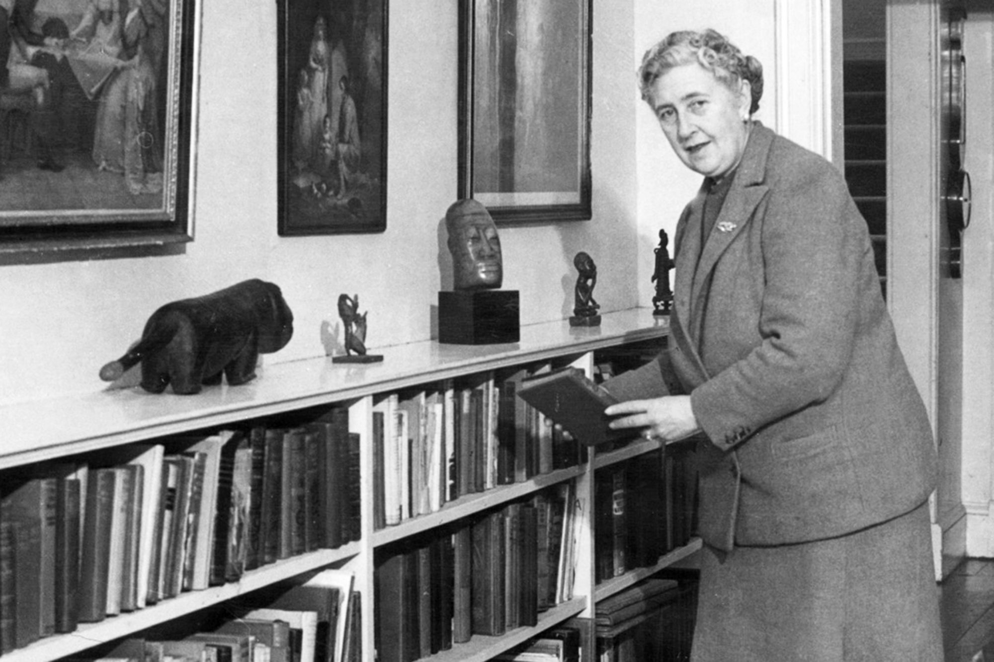 English writer Dame Agatha Christie, put