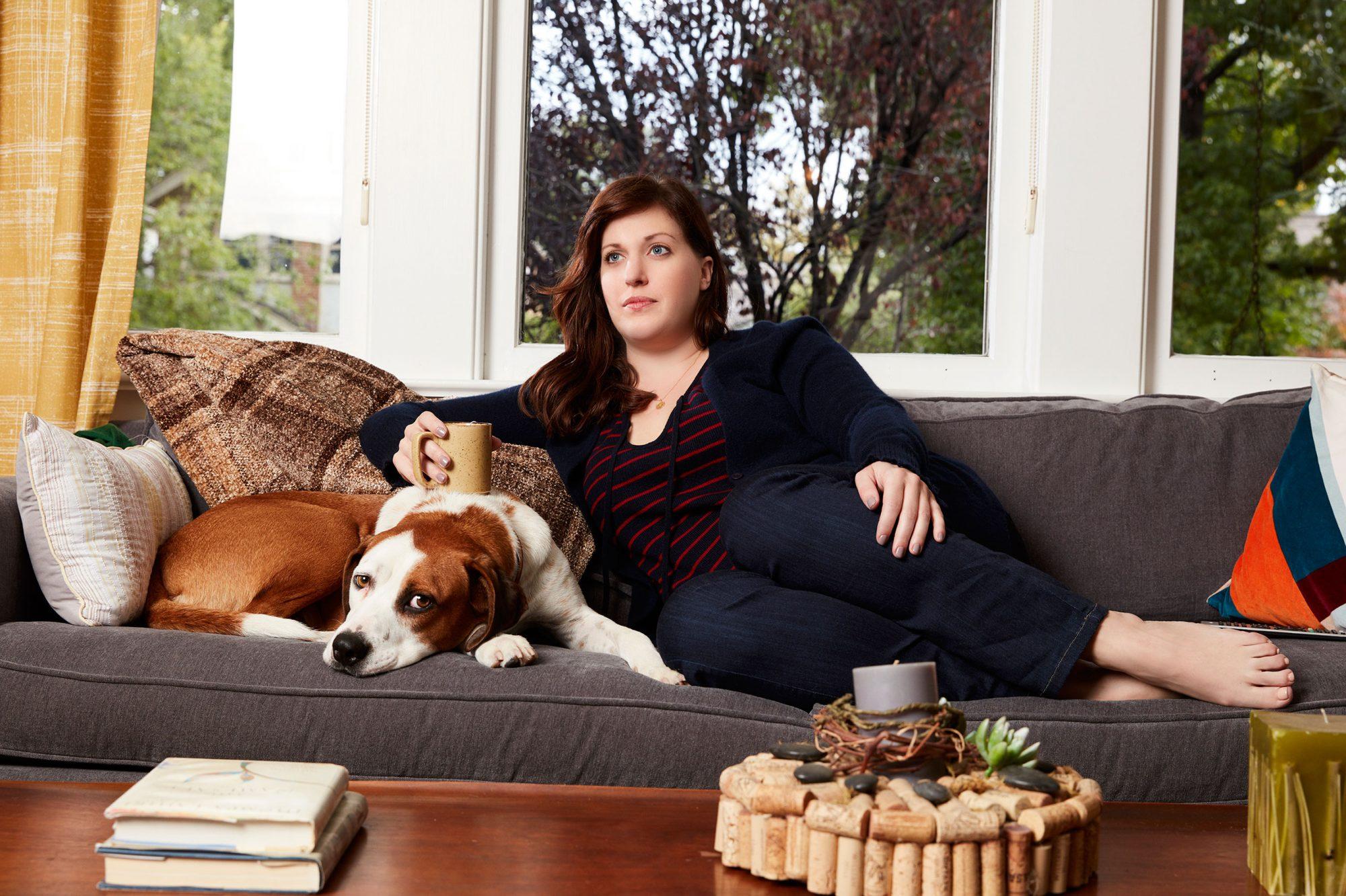 Allison Tolman in Downward Dog