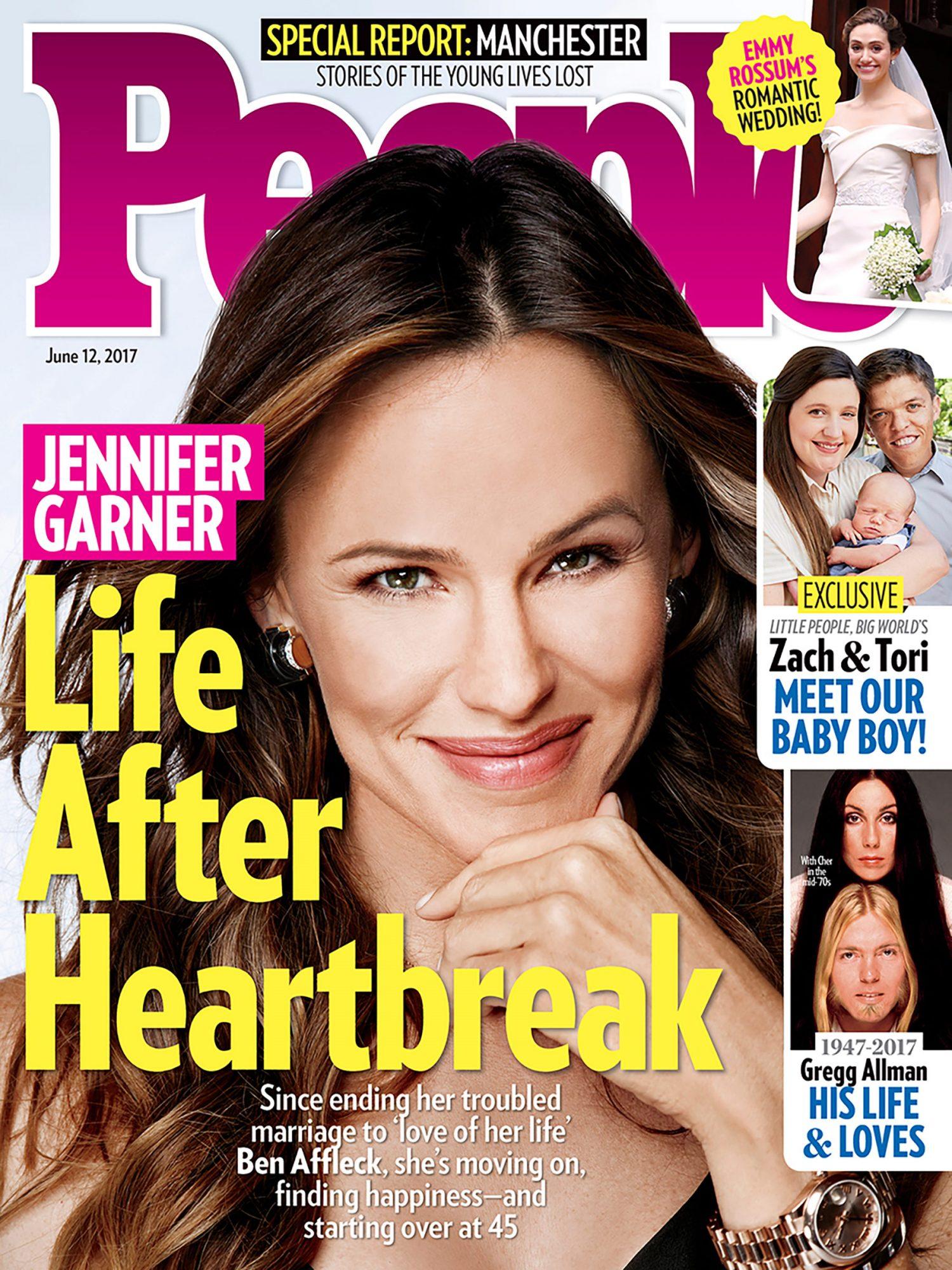 People June 12, 2017 cover - Jennifer Garner