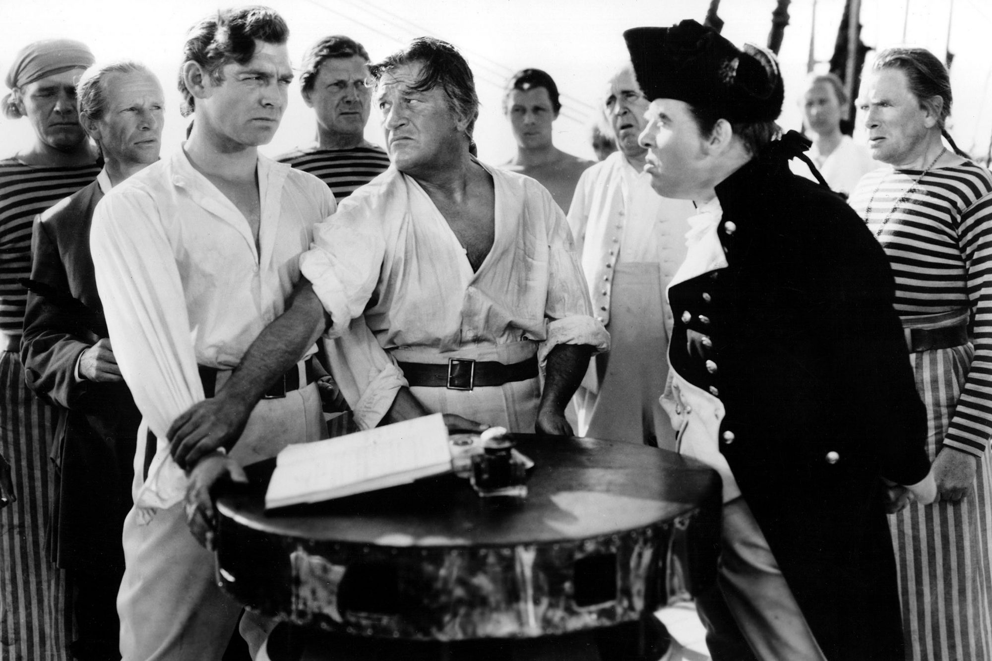 MUTINY ON THE BOUNTY, Ian Wolfe, Clark Gable, Charles Laughton, 1935