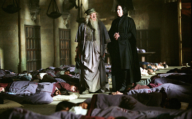 'Harry Potter and the Prisoner of Azkaban'- Alan Rickman pranks Danial Radcliffe with a fart machine during a sleeping scene
