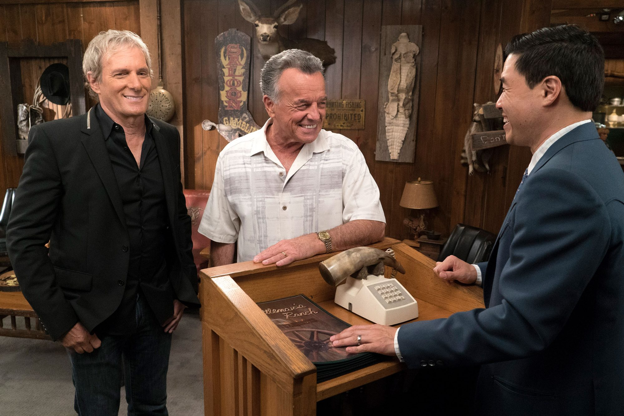 MICHAEL BOLTON, RAY WISE, RANDALL PARK