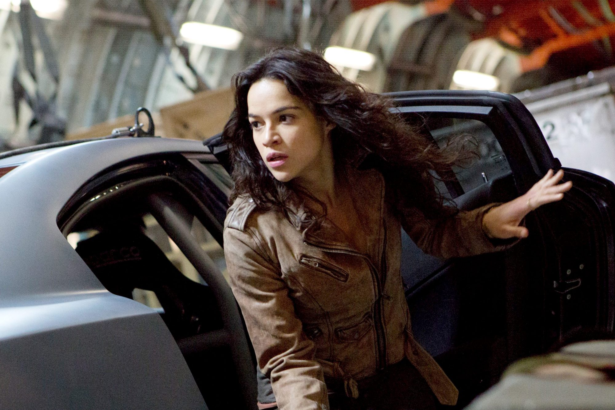 FAST & FURIOUS 6, Michelle Rodriguez, 2013. ph: Giles Keyte/©Universal Pictures/Courtesy Everett Col