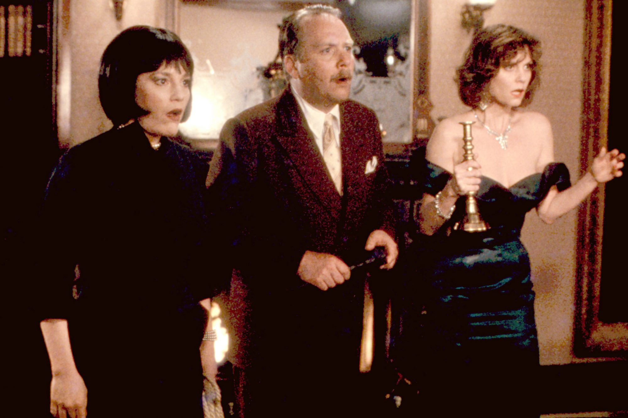 CLUE, Madeline Kahn, Martin Mull, Lesley Ann Warren, 1985, (c)Paramount/courtesy Everett Collection