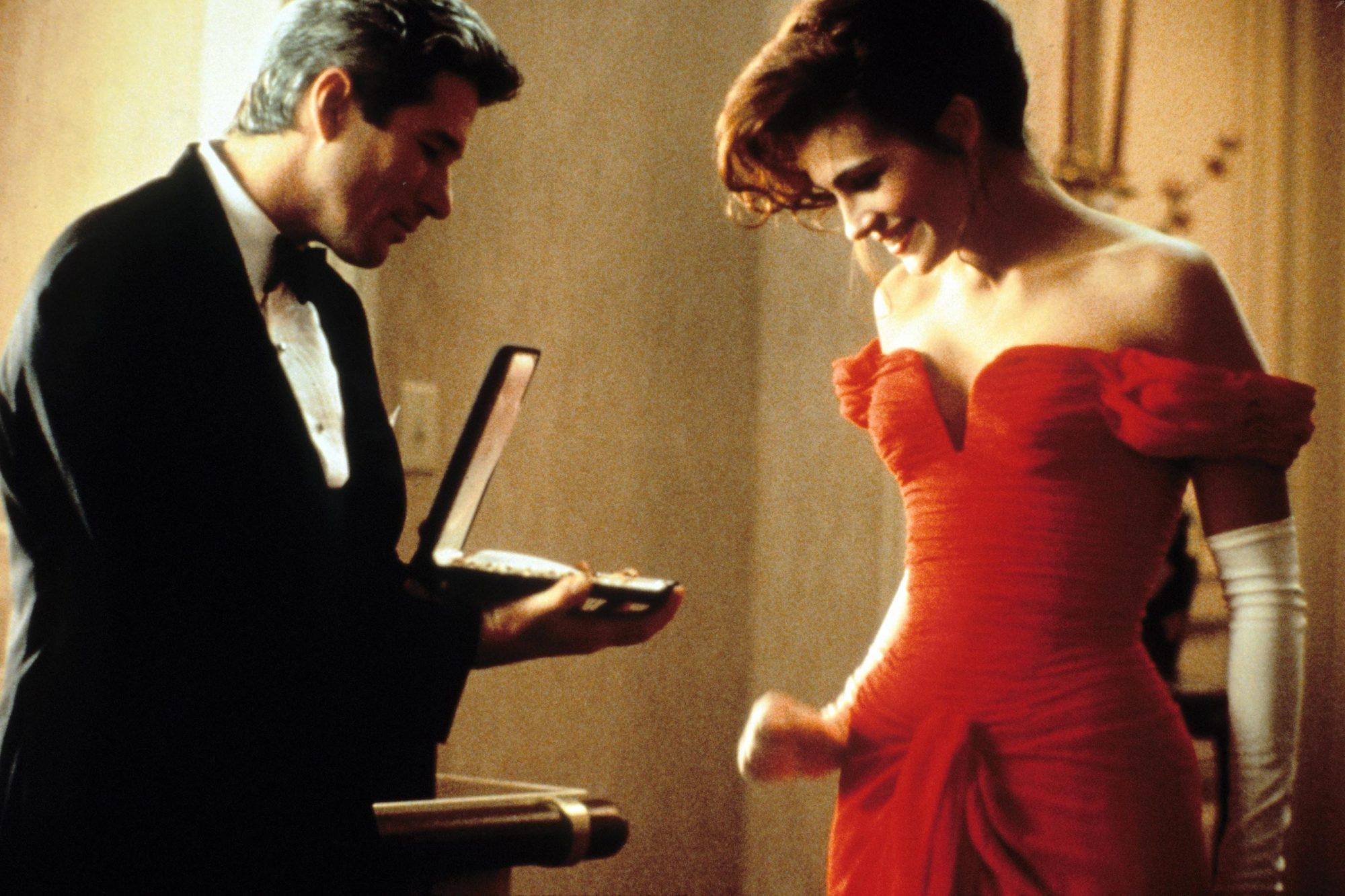 PRETTY WOMAN, Richard Gere, Julia Roberts, 1990