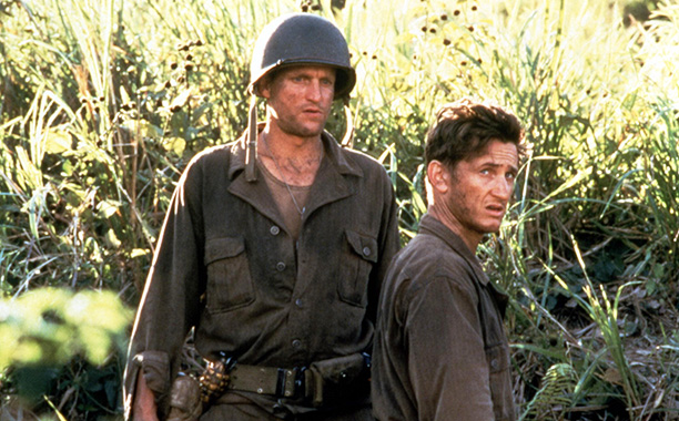 """'The Thin Red Line' - Woody Harrelson arranges for Sean Penn to """"bail"""" Nick Nolte out of jail"""