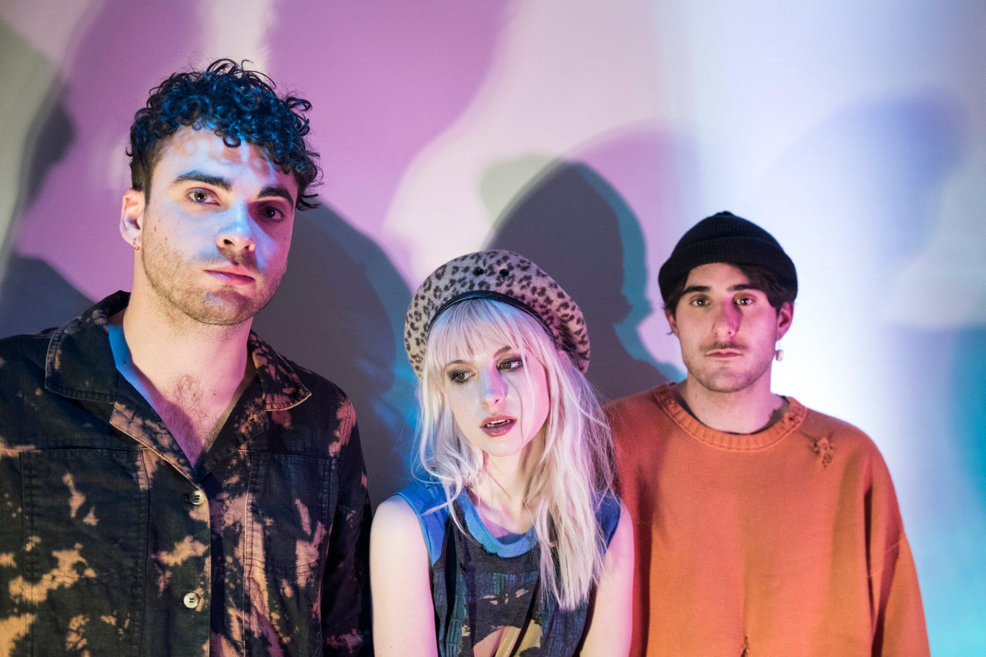 Paramore (2017)PublicityTaylor York, Hayley Williams, Zac Farro