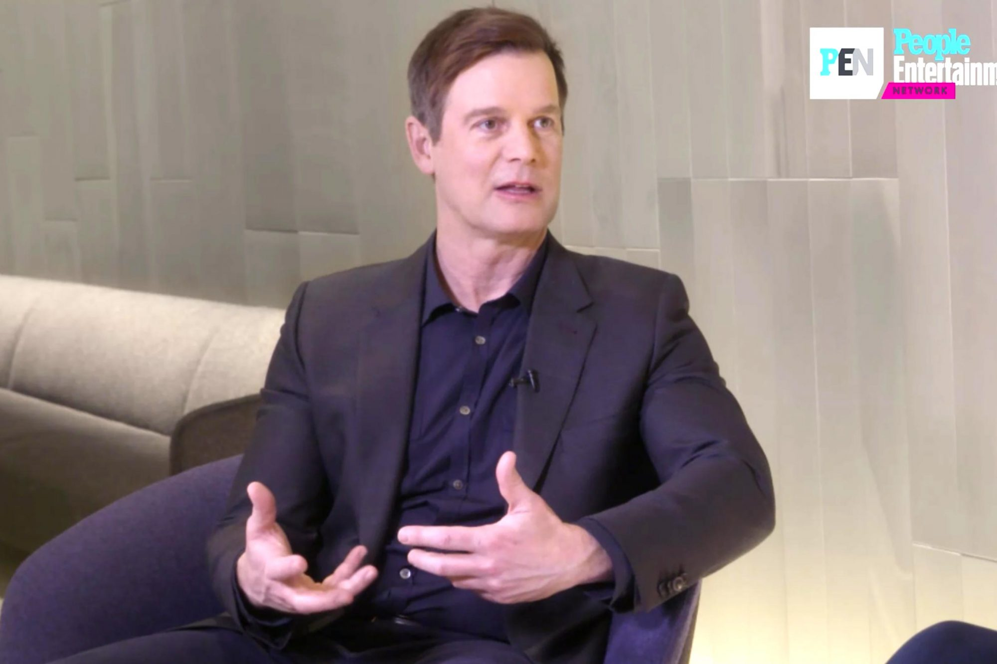 Peter Krause -- screen grab from EW.com exclusive clip CR: PEN