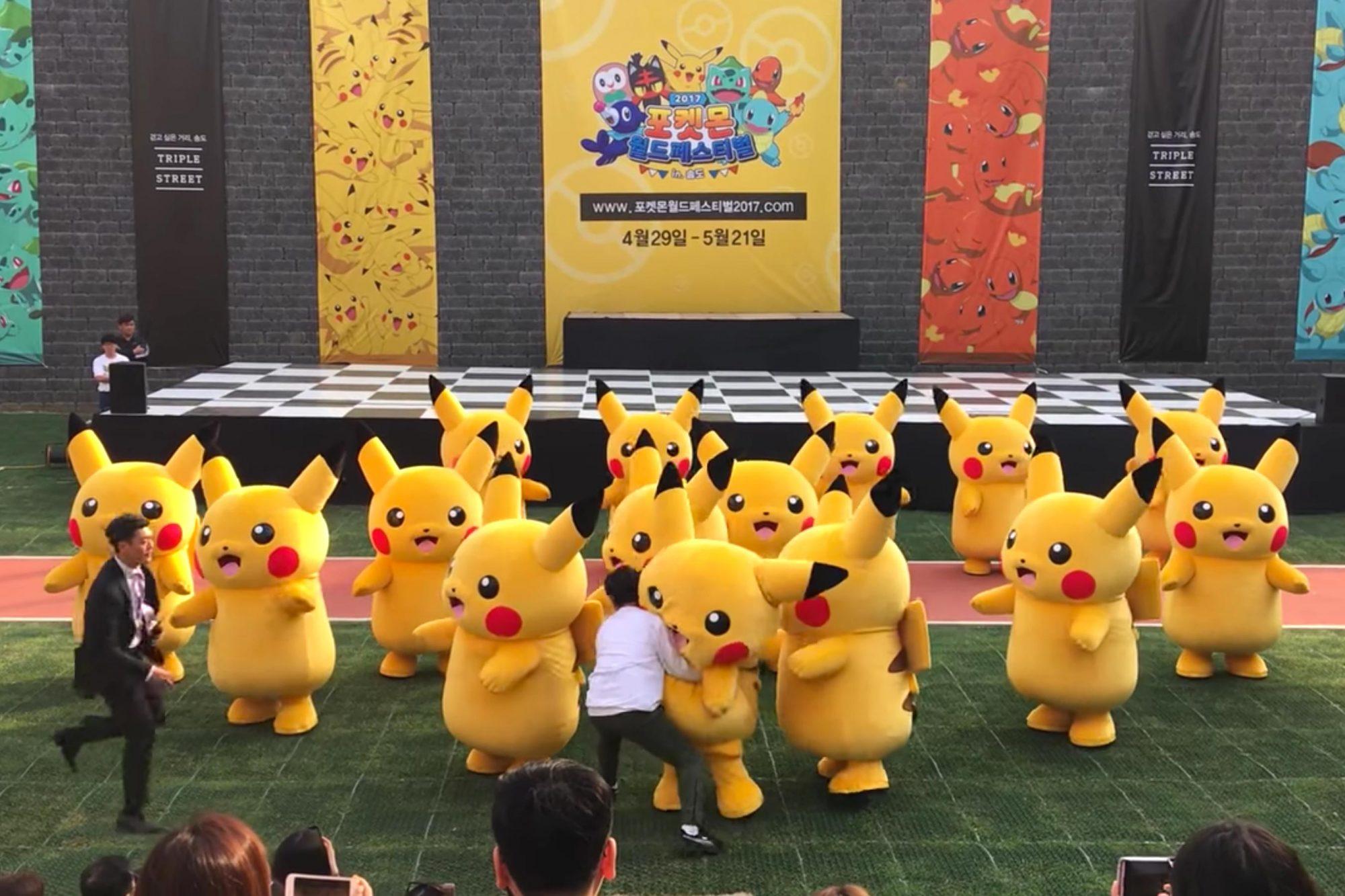 Pikachu-Korea