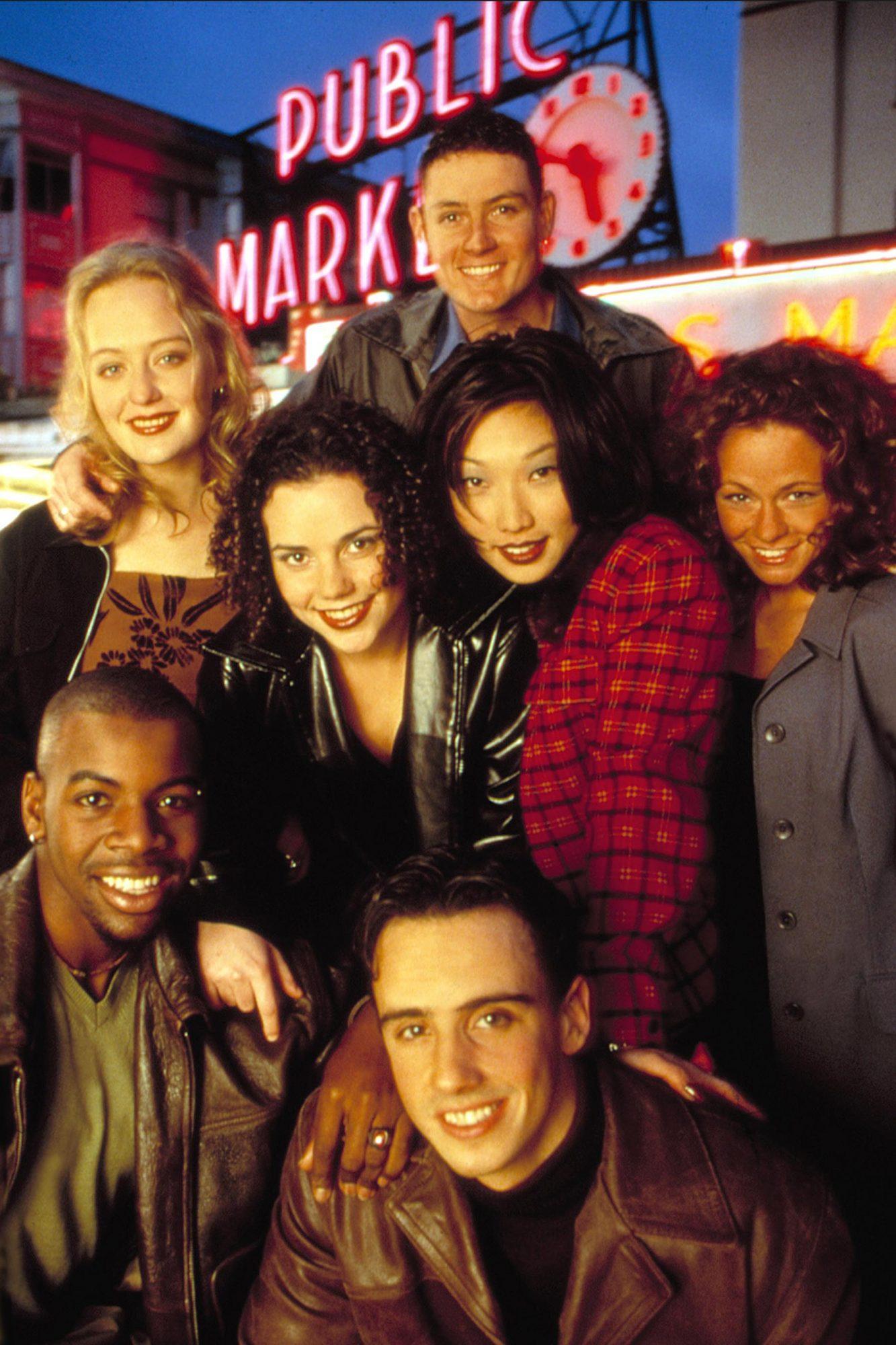 REAL WORLD, SEATTLE, Rebecca, Nate, Irene, Janet, Lindsay, Stephen, Dave, (1998), 7th season, 1992-p