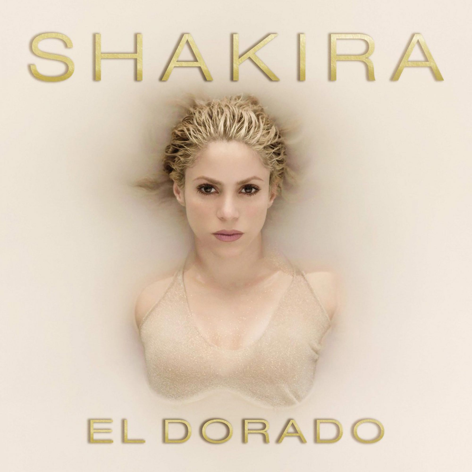 "Shakira ""El Dorado"" album cover CR: Ace Entertainment"