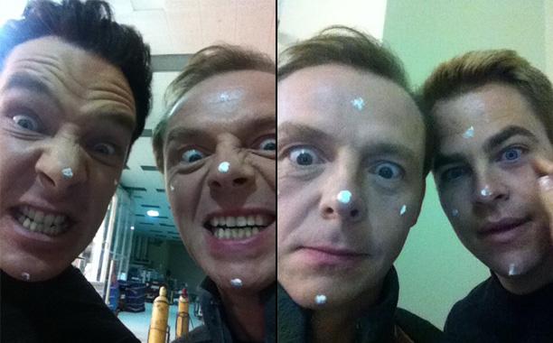 'Star Trek Into Darkness' - Simon Pegg convinces cast members to wear neutron cream