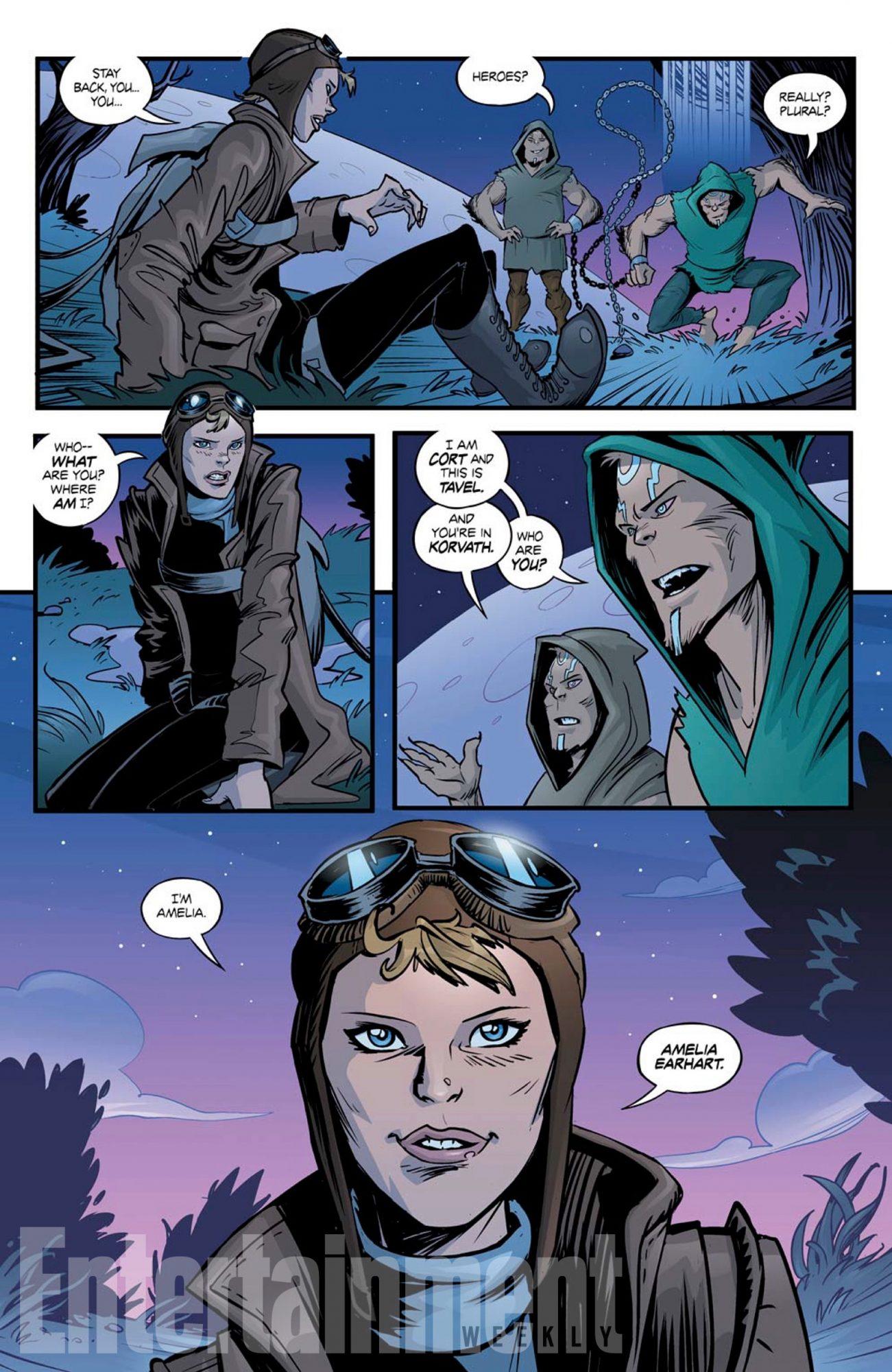 Amelia Earhart Elsewhere Comic Book