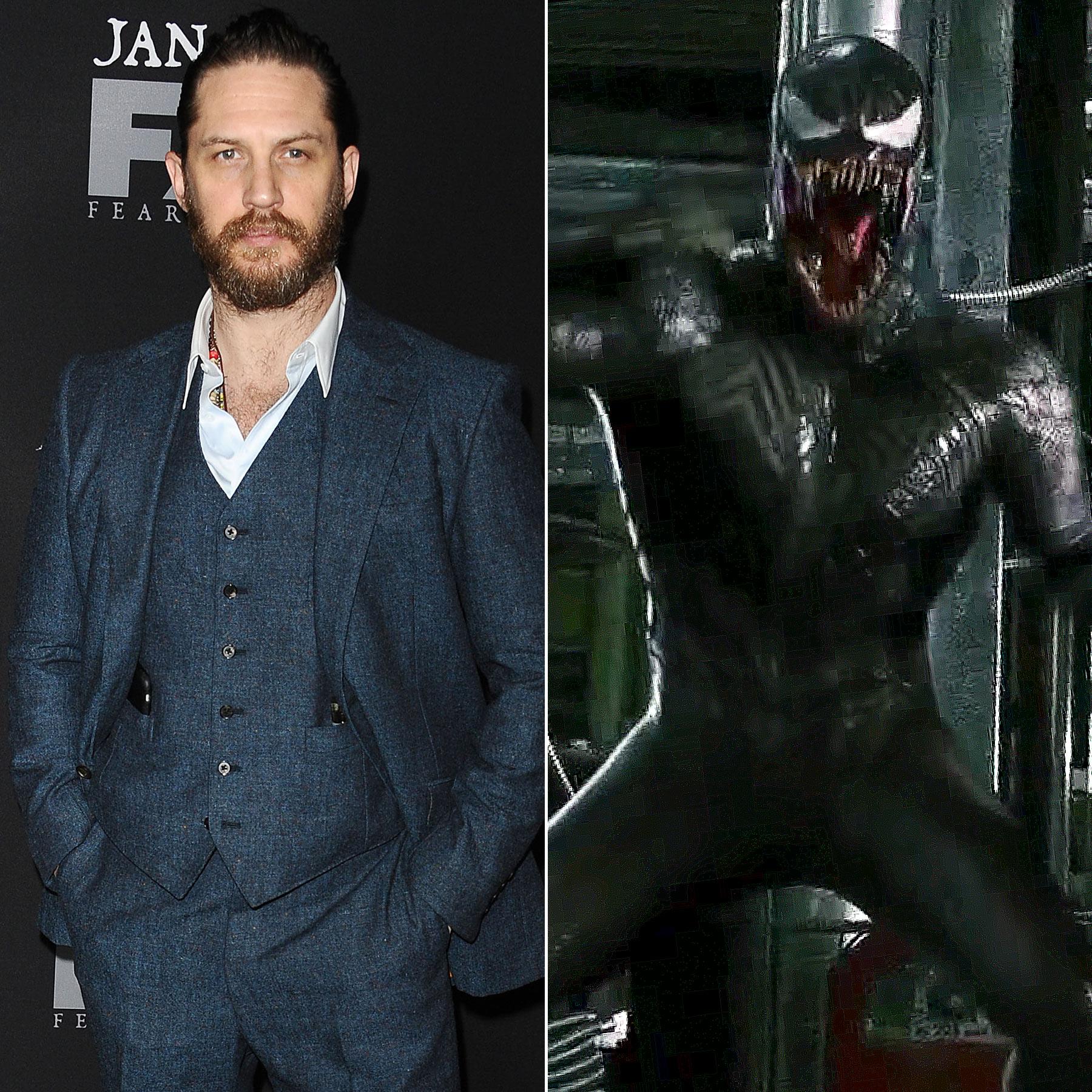 Tom Hardy and Venom