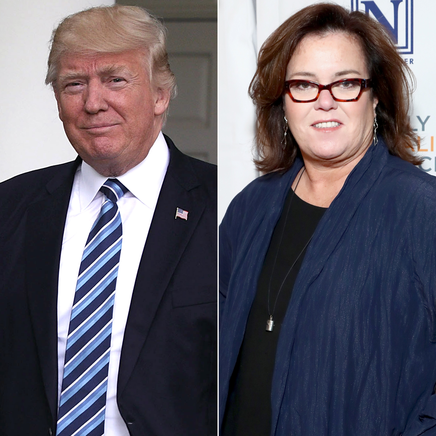 Donald Trump and Rosie O''Donnell