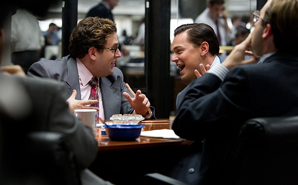 'The Wolf of Wall Street' - Jonah Hill tricks Leonardo Dicaprio into eating sushi all night during a scene
