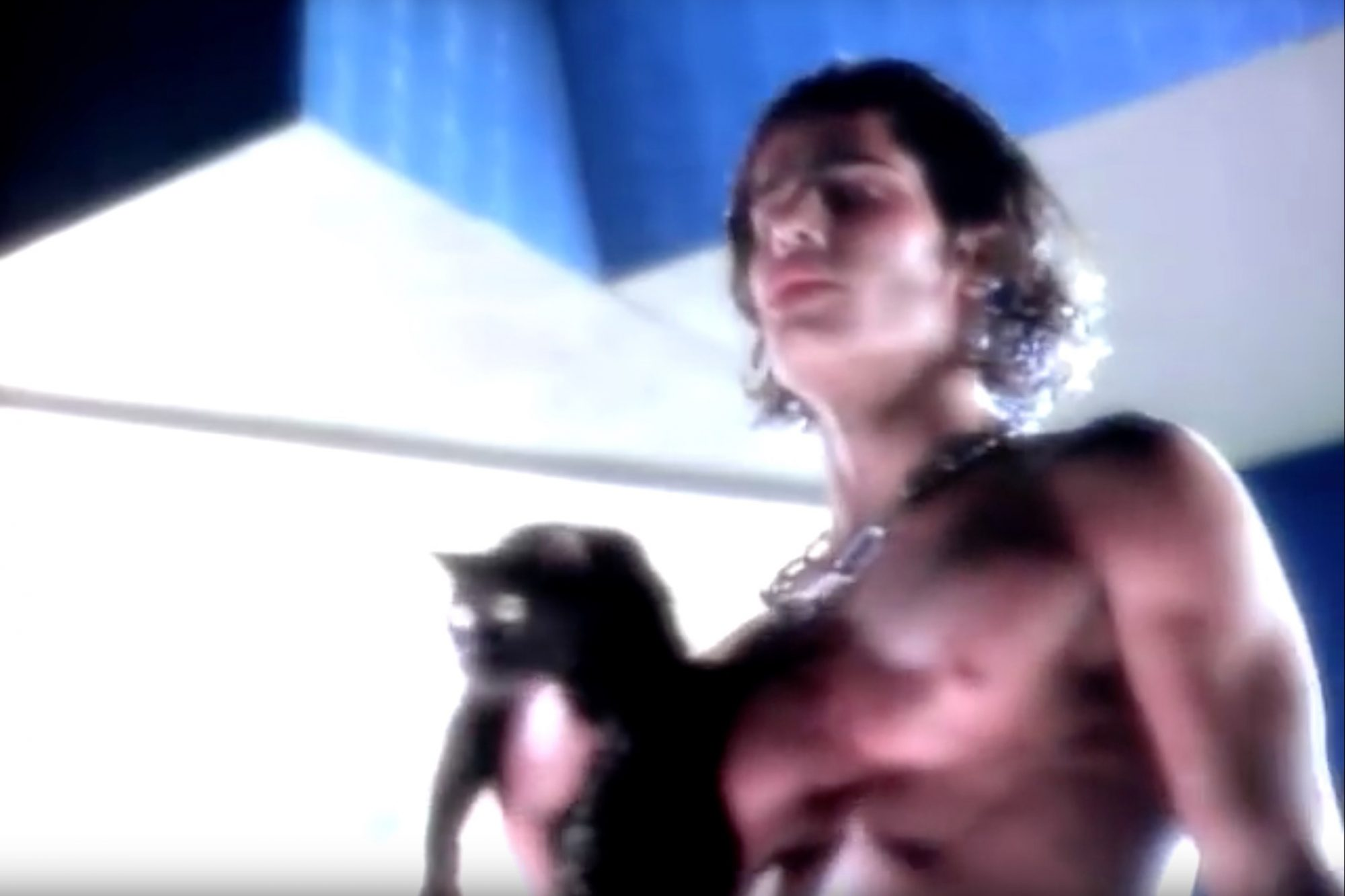 Madonna's Express Yourself Video (1989)Frame Grab